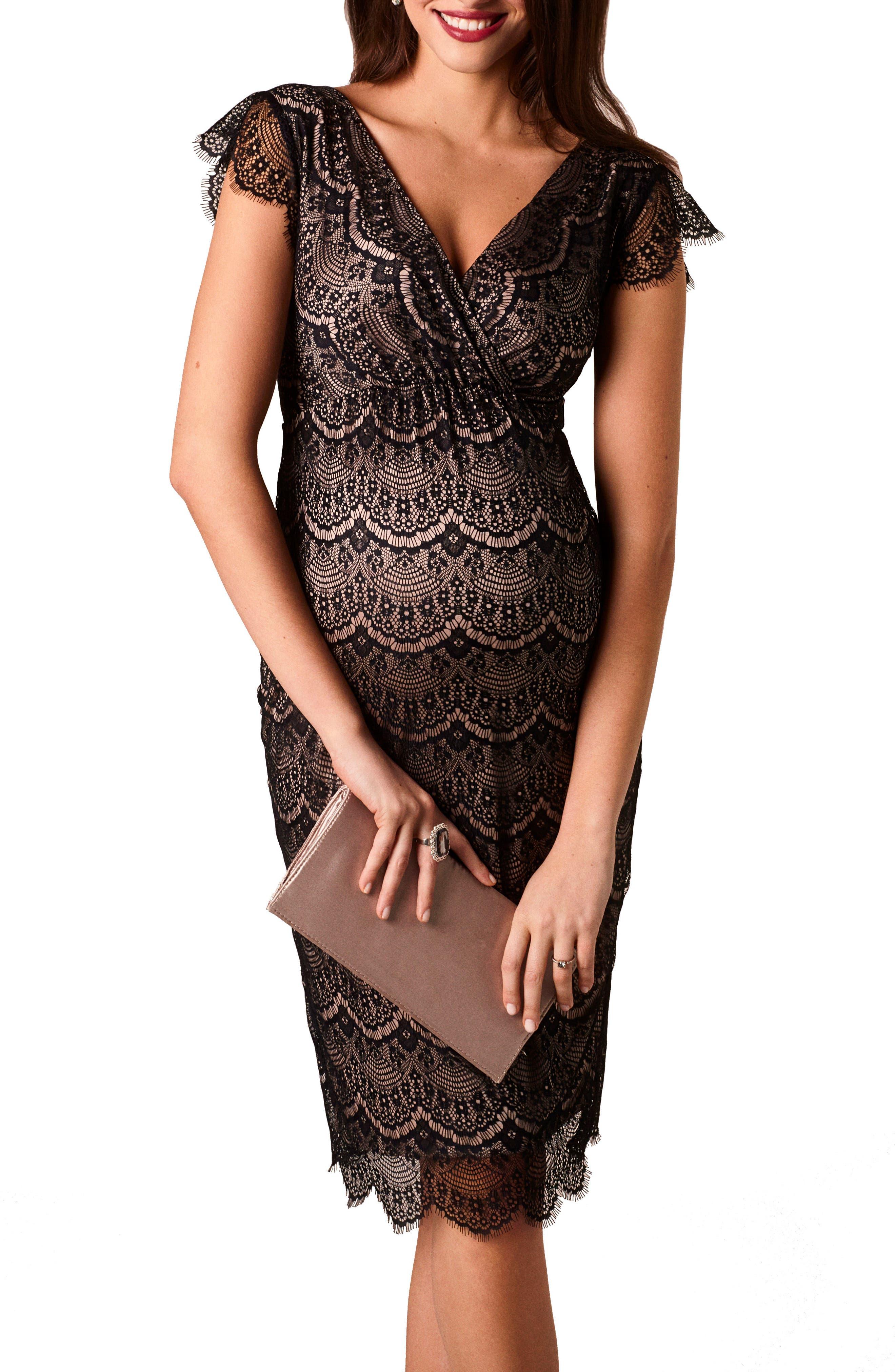 Imogen Maternity Dress,                             Main thumbnail 1, color,                             BLACK