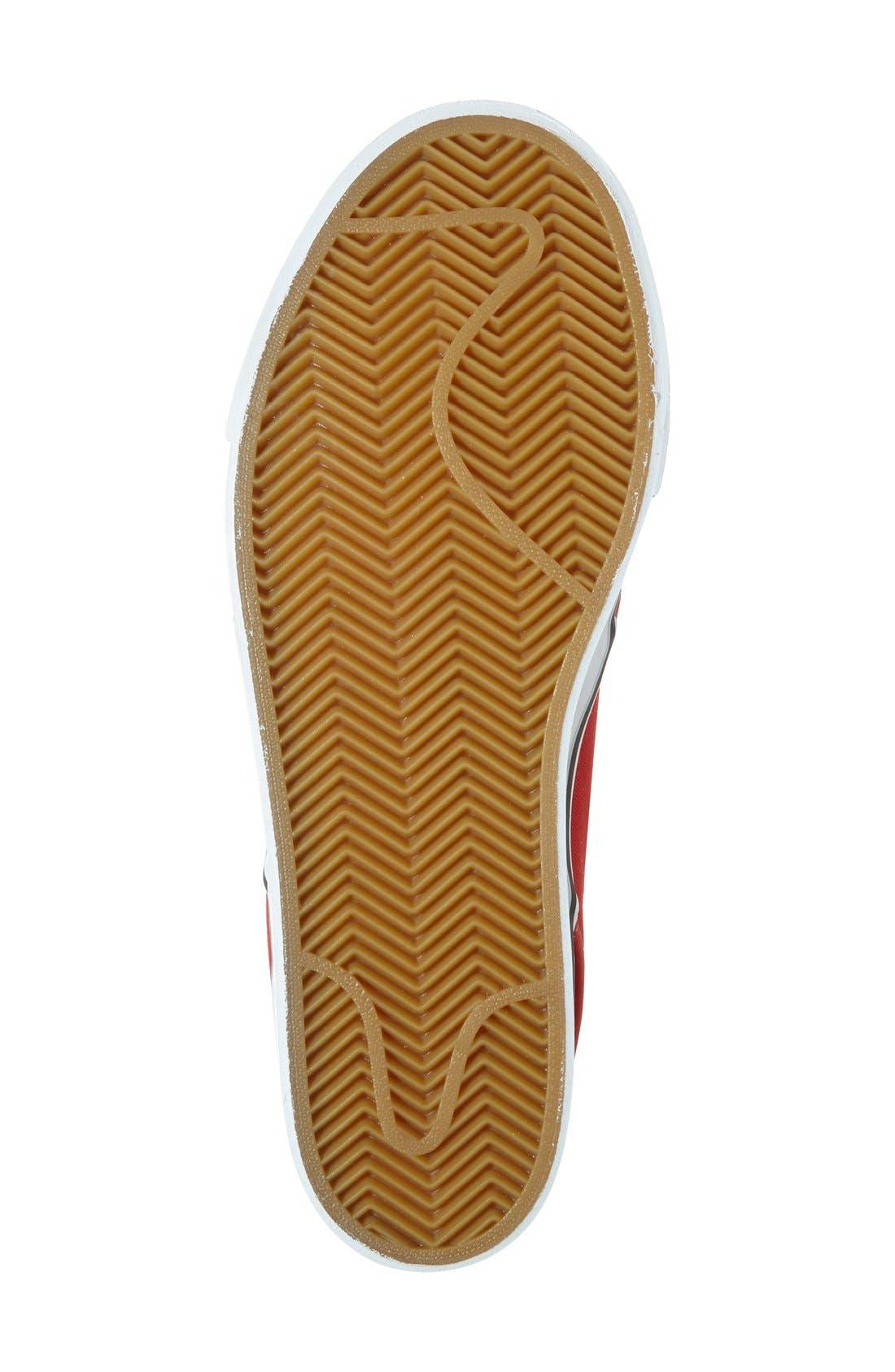 Zoom - Stefan Janoski SB Canvas Skate Shoe,                             Alternate thumbnail 124, color,