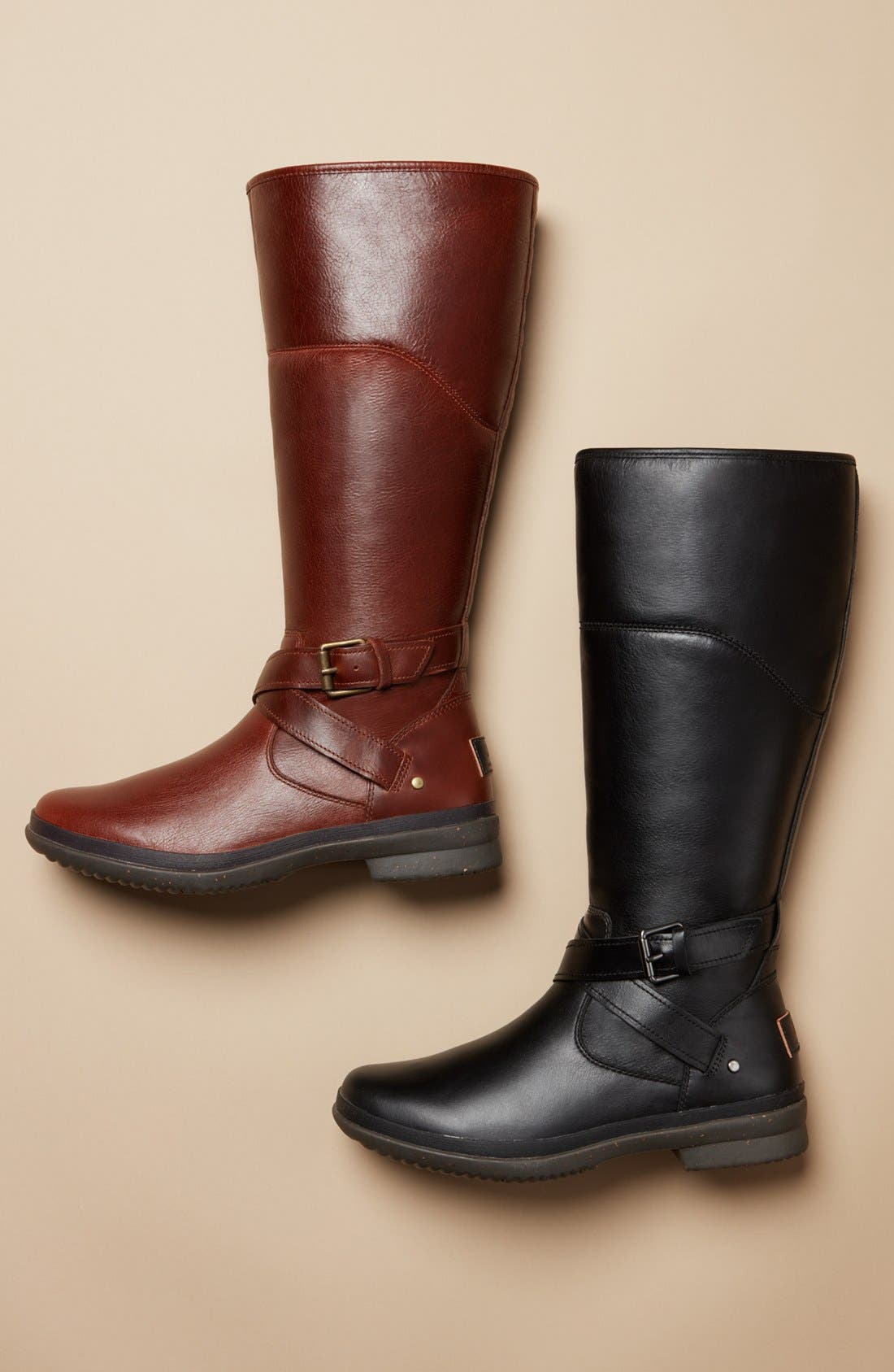 Evanna Riding Boot,                             Alternate thumbnail 5, color,                             001
