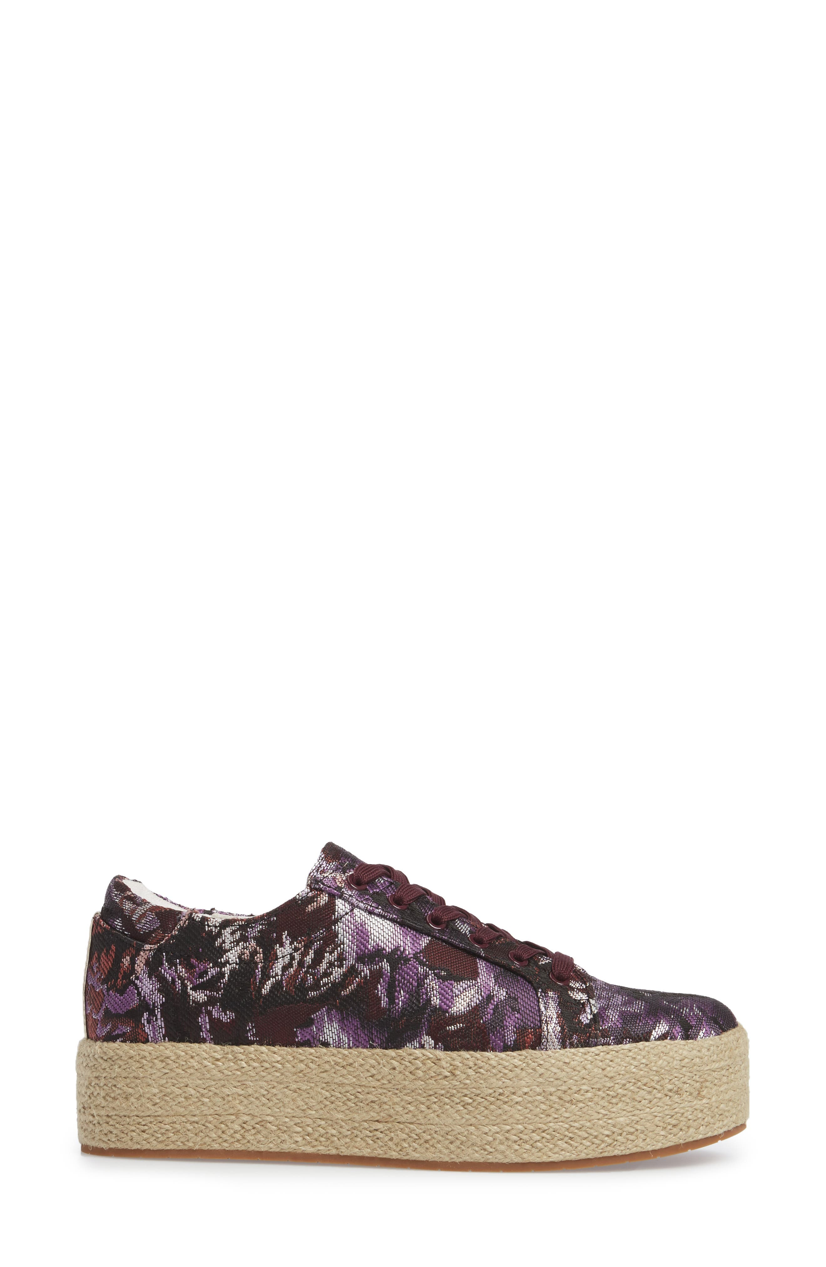Allyson Espadrille Platform Sneaker,                             Alternate thumbnail 12, color,