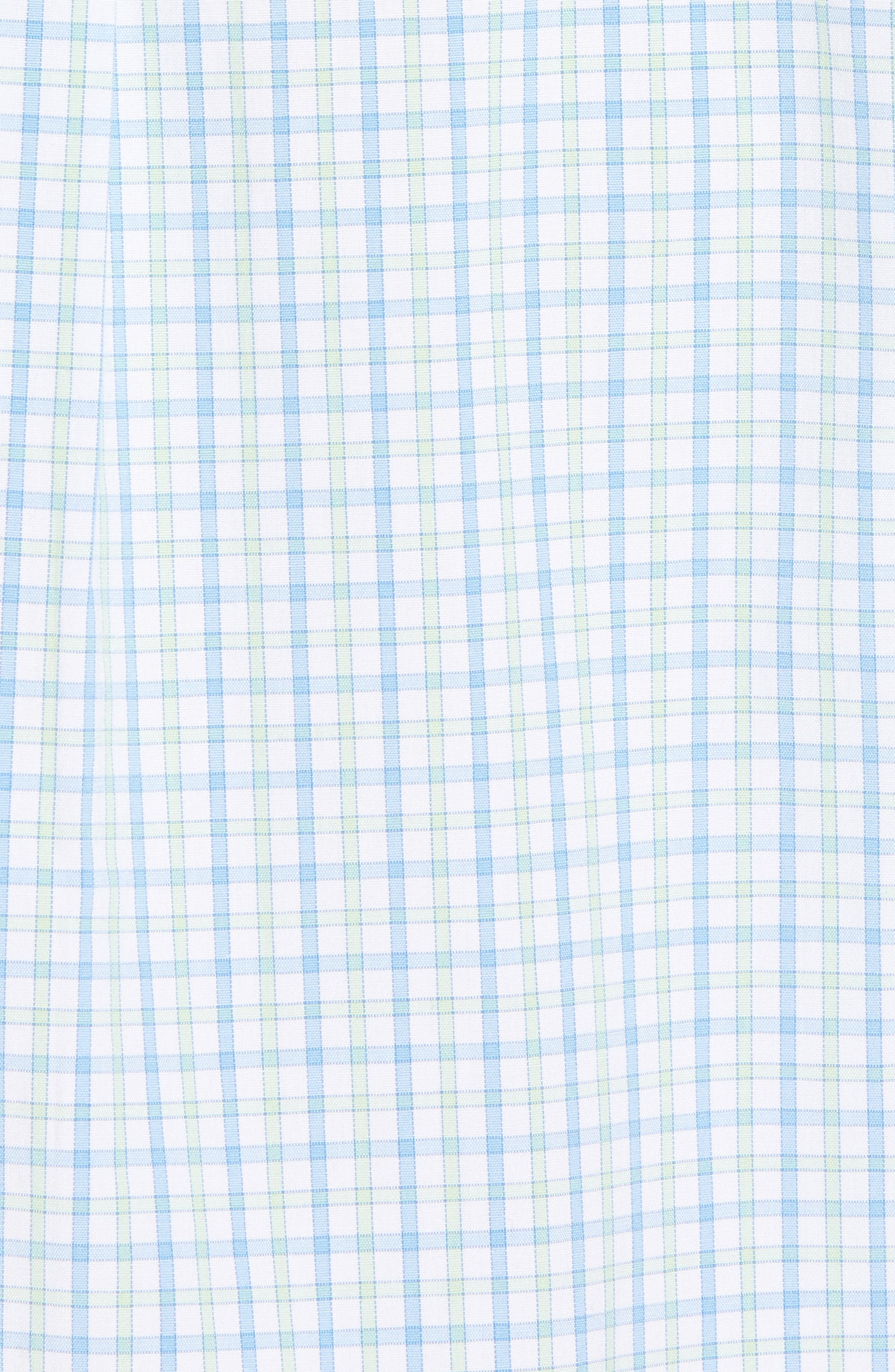 Clark Cove Tucker Classic Fit Check Sport Shirt,                             Alternate thumbnail 5, color,                             305