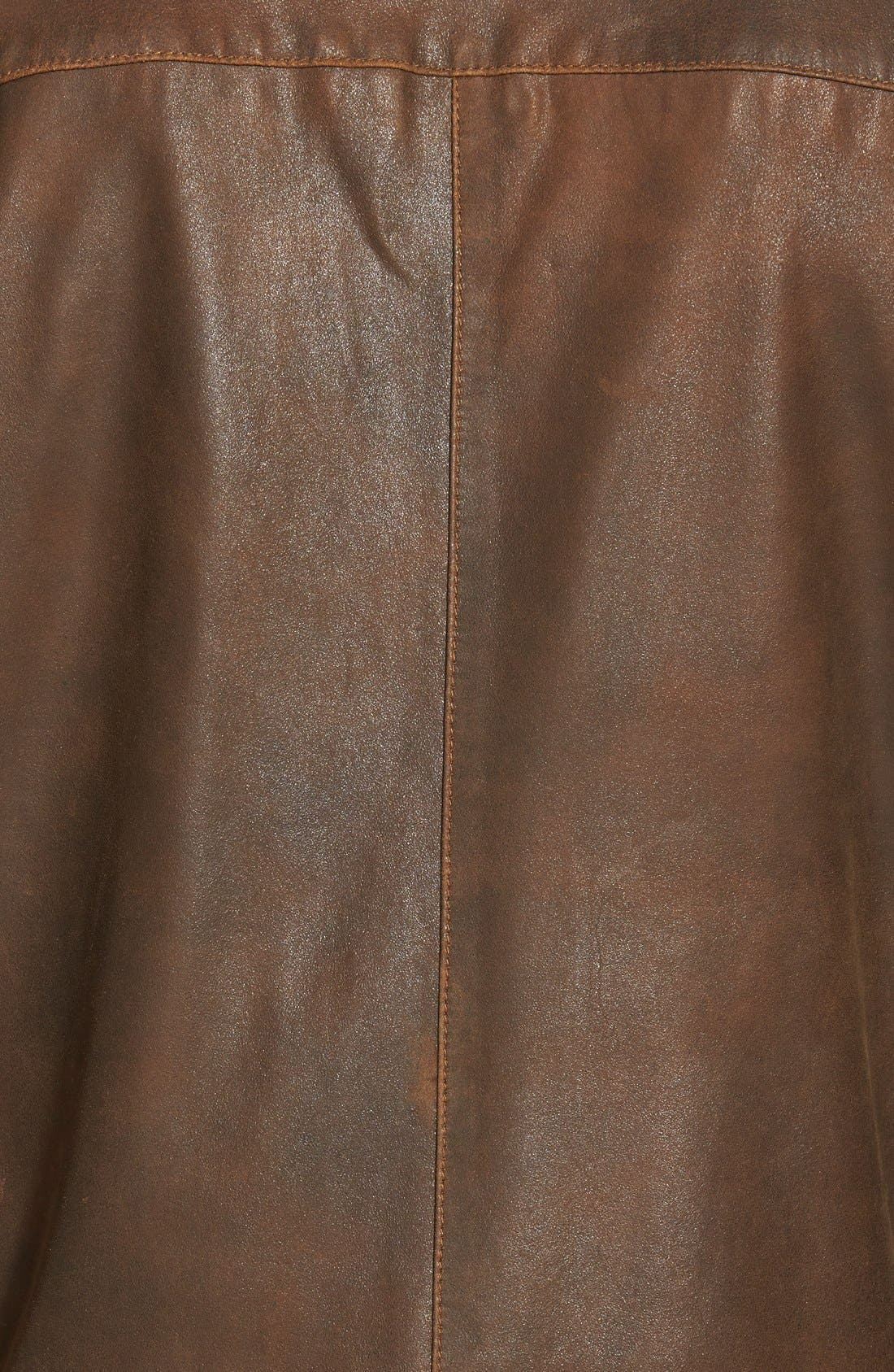 Suede Bomber Jacket,                             Alternate thumbnail 3, color,