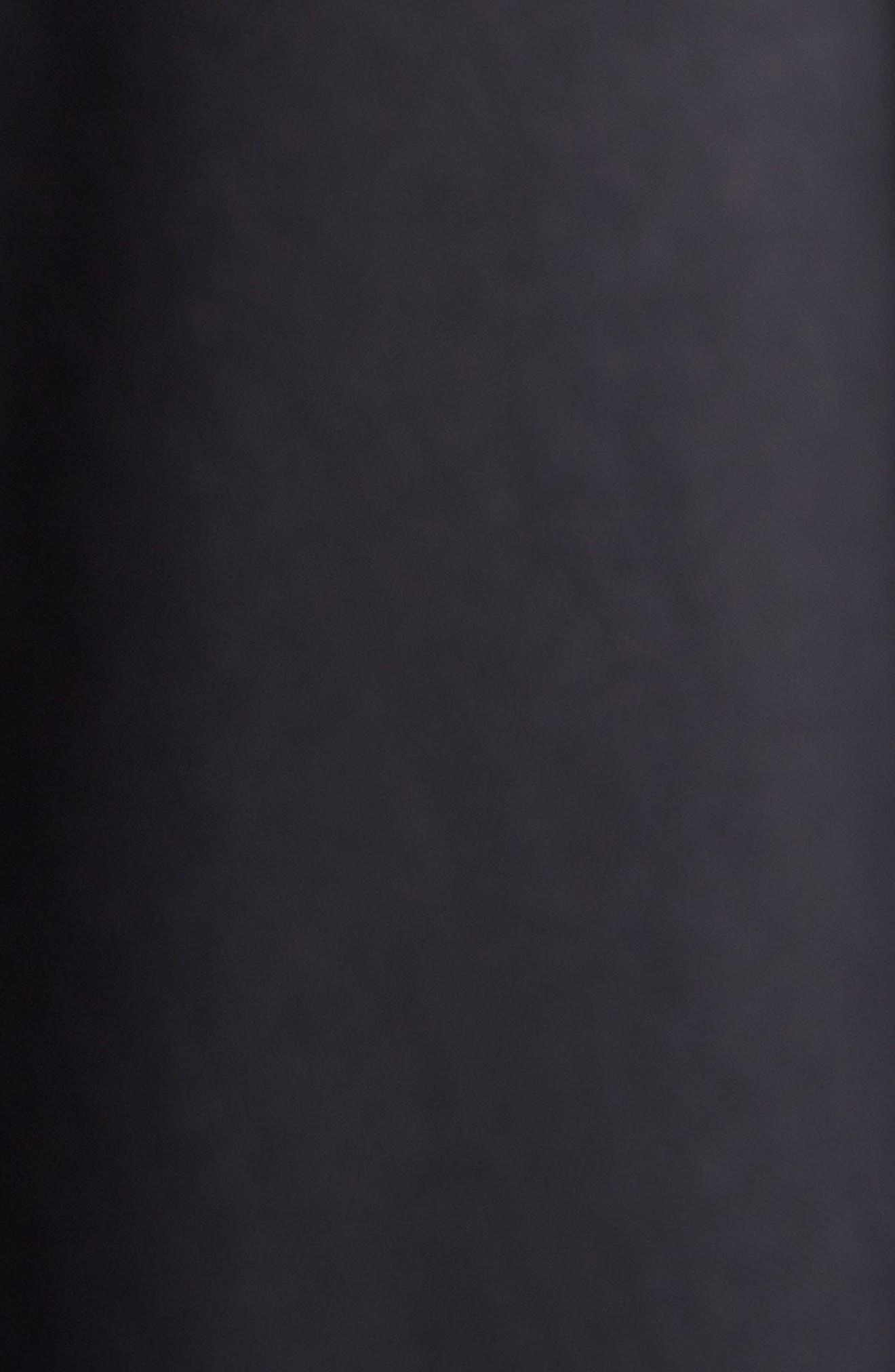 Layered Coat,                             Alternate thumbnail 5, color,                             1000-BLACK