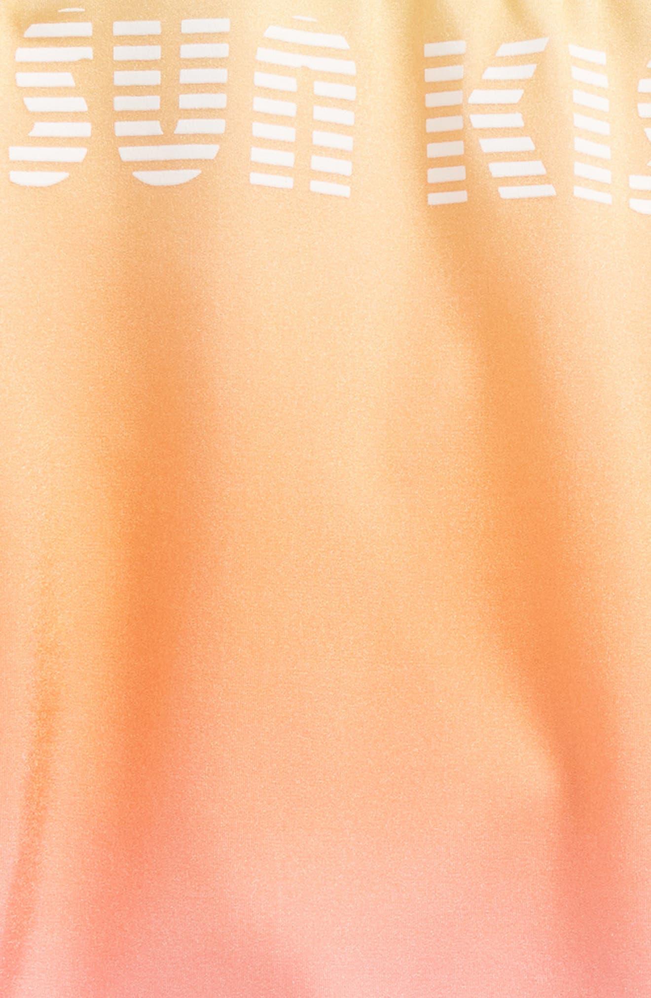 Teen Spirit Sun Kissed One-Piece Swimsuit,                             Alternate thumbnail 3, color,                             441