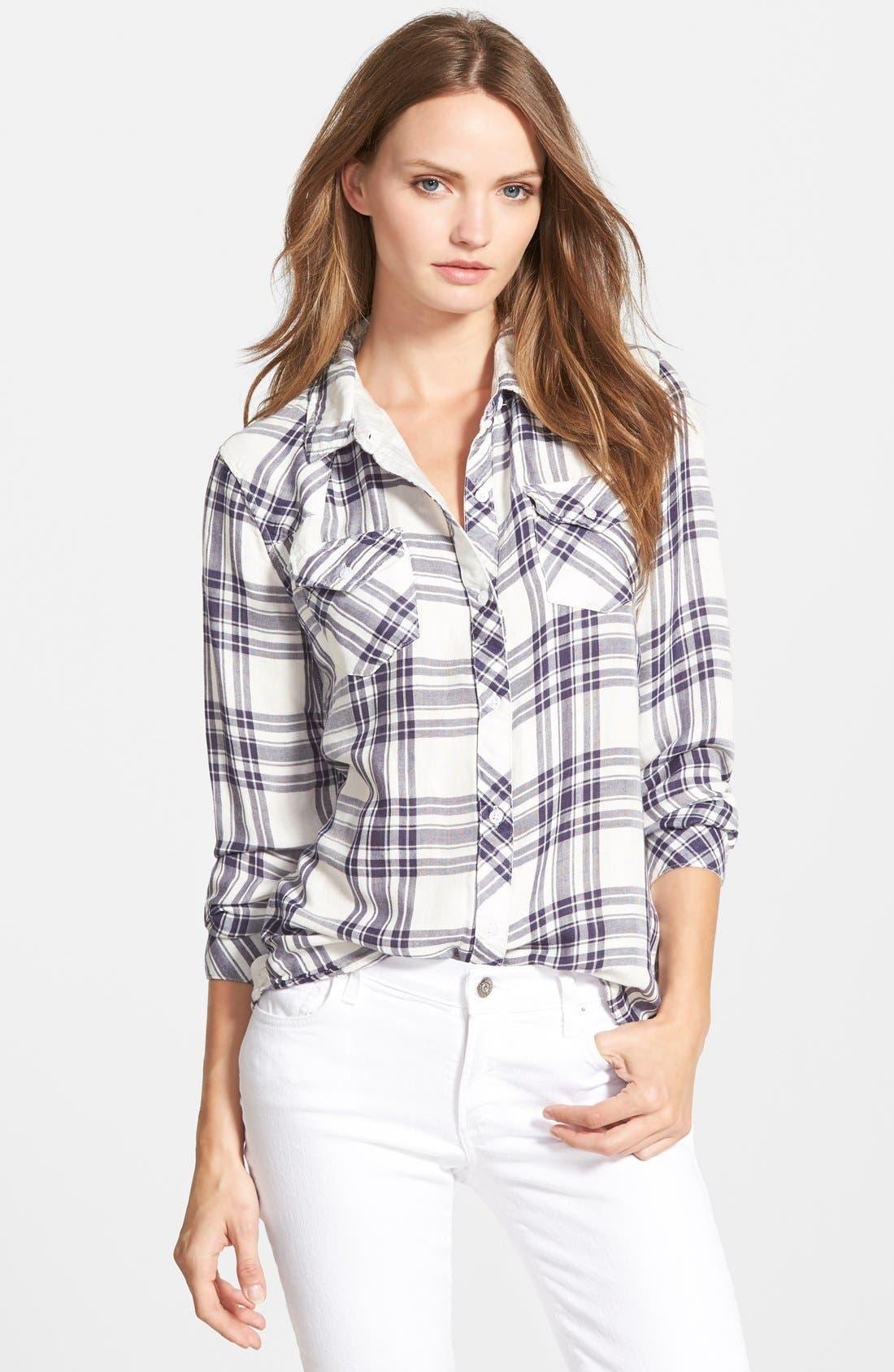 RAILS 'Kendra' Plaid Shirt, Main, color, 101
