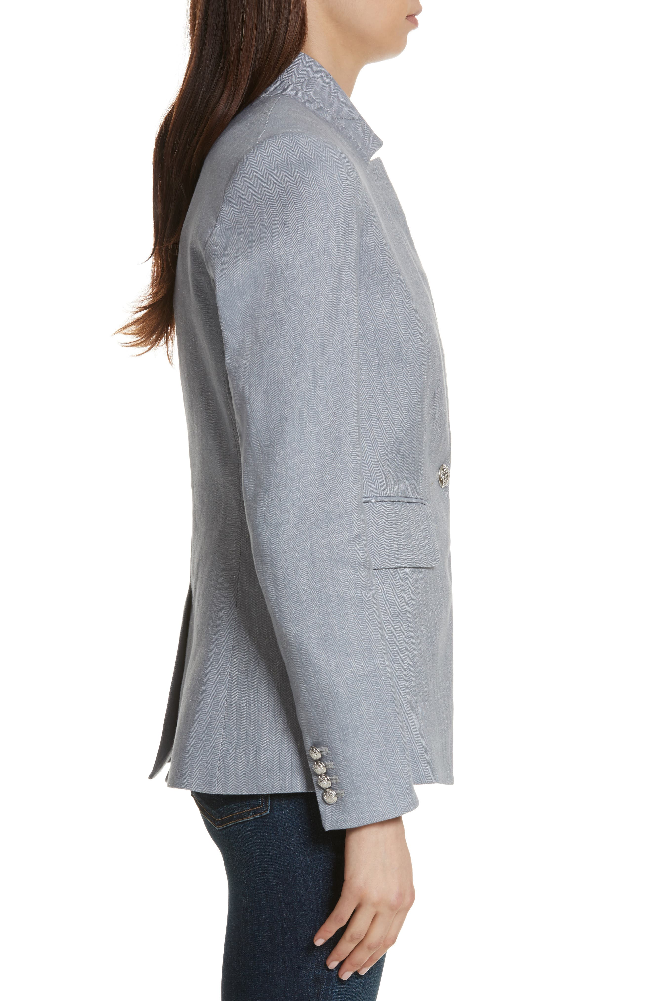 Upcollar Jacket,                             Alternate thumbnail 3, color,                             050