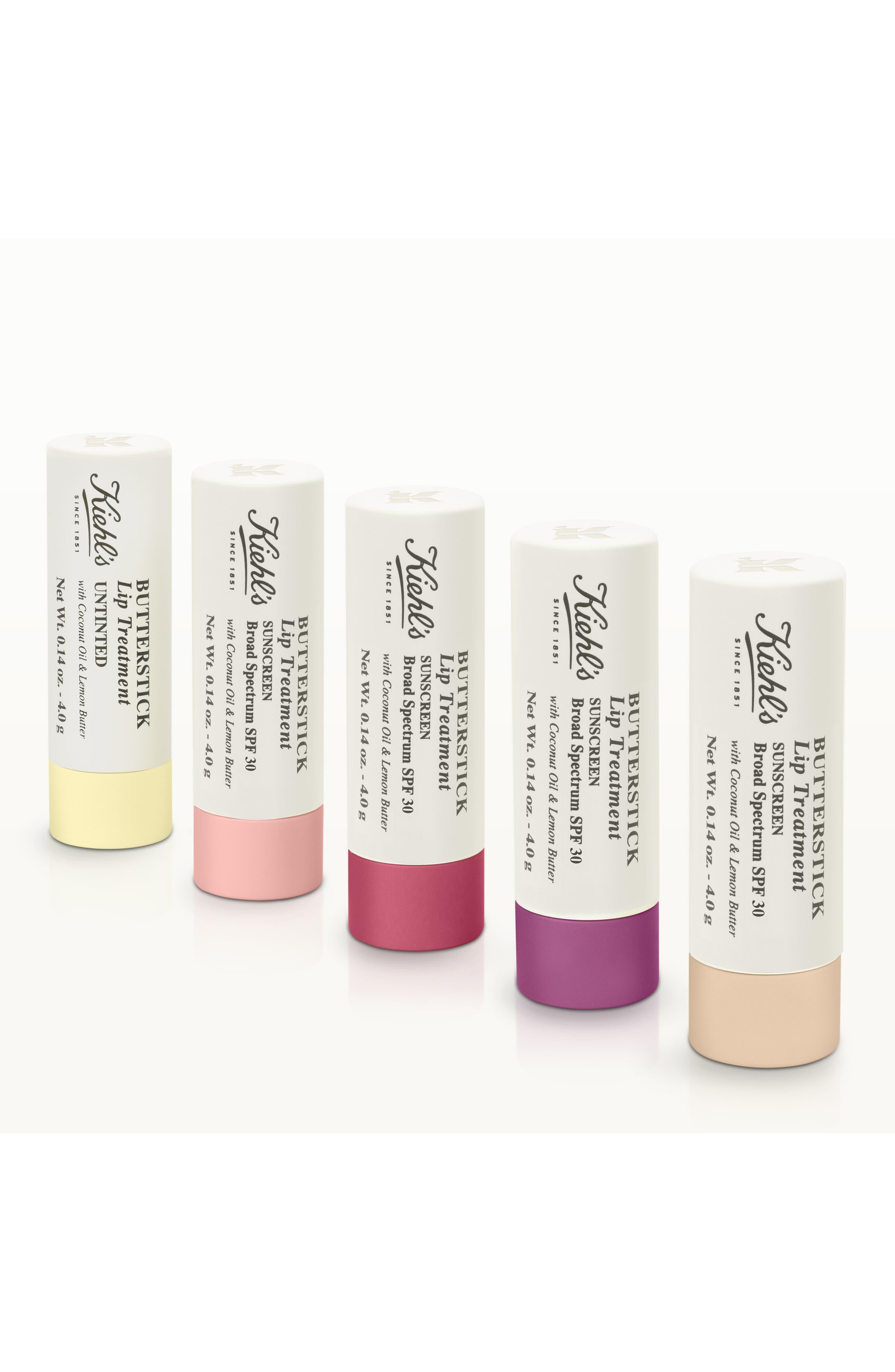 Butterstick Lip Treatment SPF 30,                             Alternate thumbnail 3, color,                             CLEAR