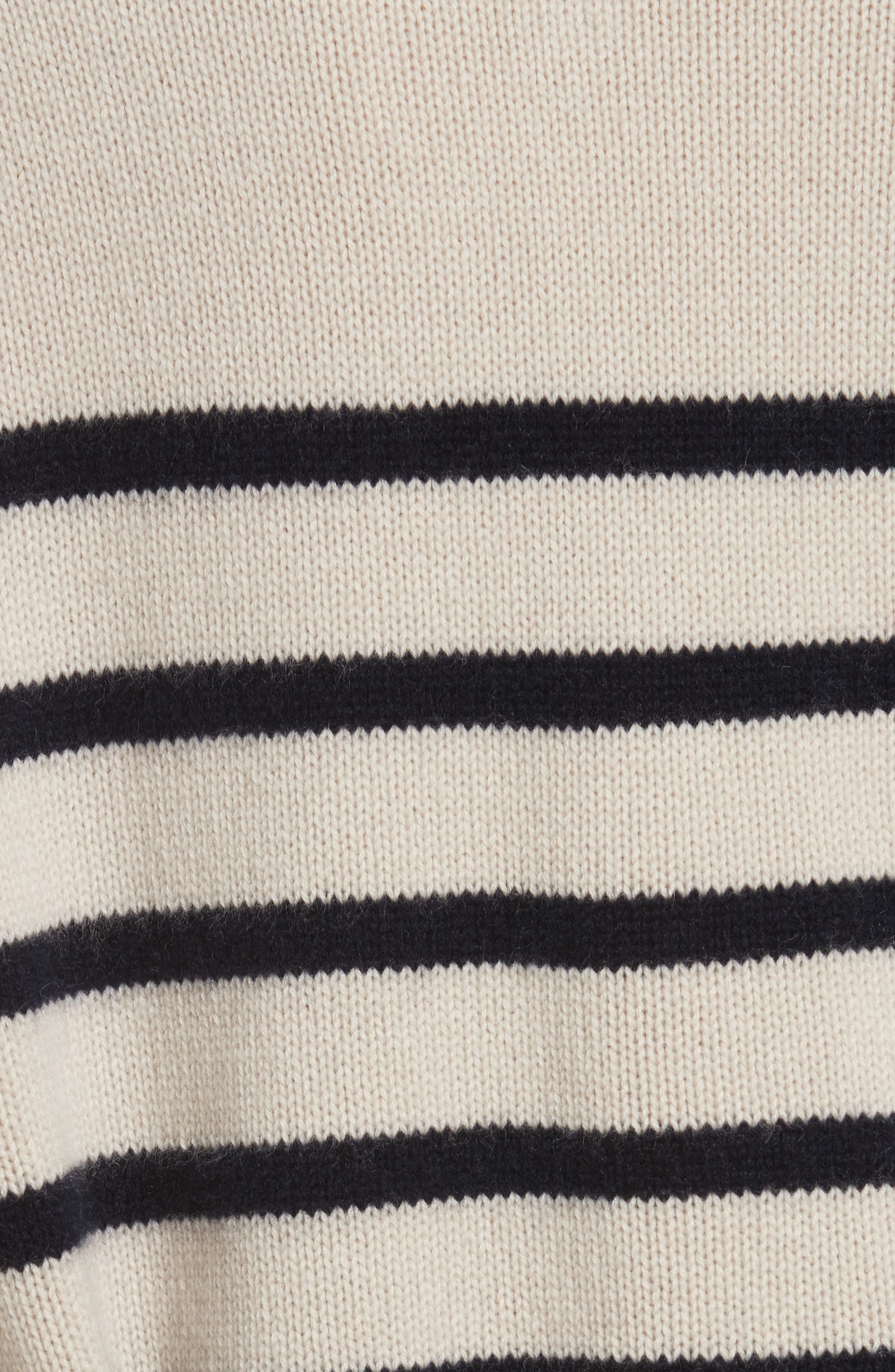 Cashmere Stripe Boxy Crew Sweater,                             Alternate thumbnail 10, color,
