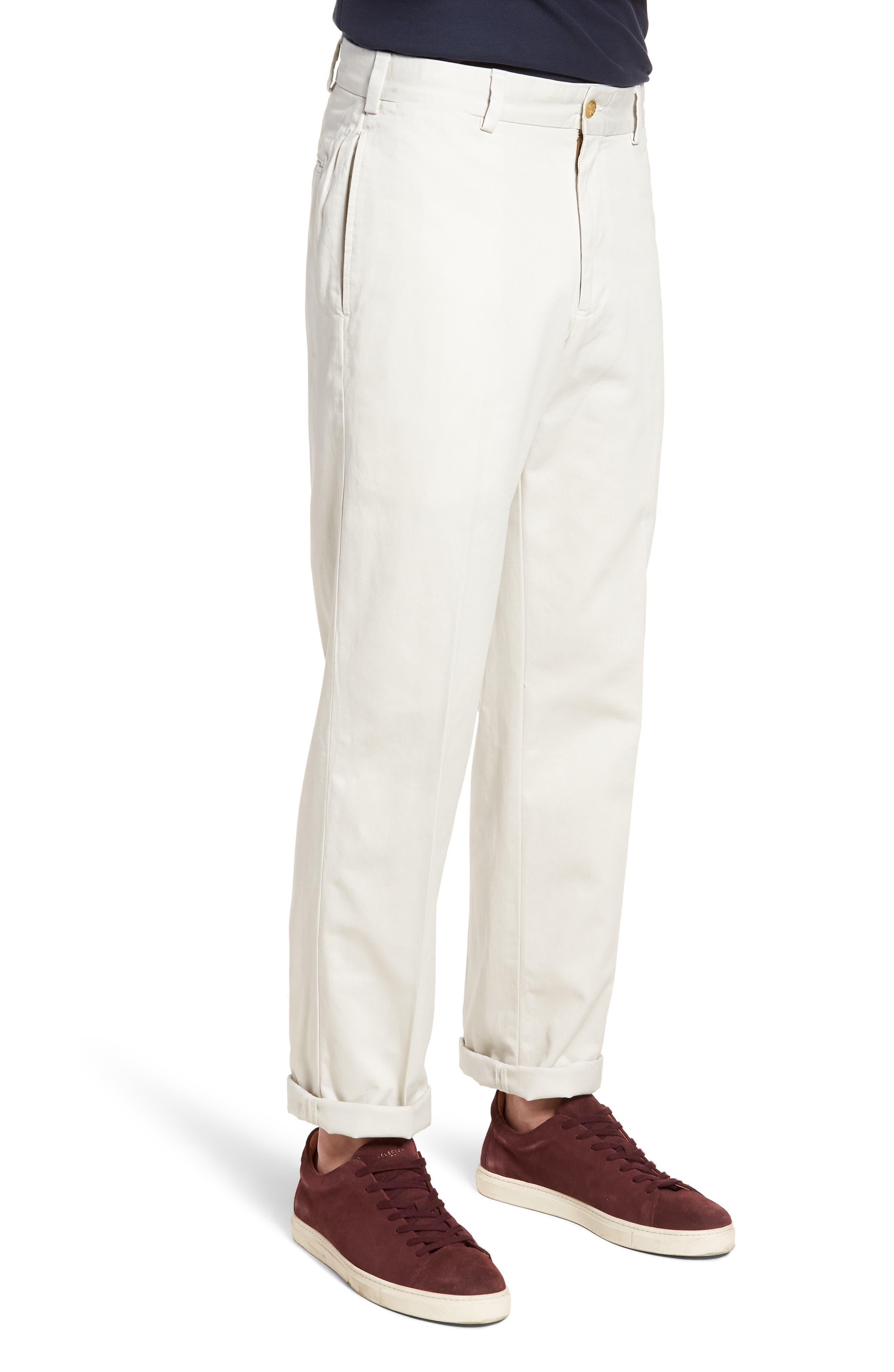 M2 Classic Fit Vintage Twill Flat Front Pants,                             Alternate thumbnail 3, color,                             270