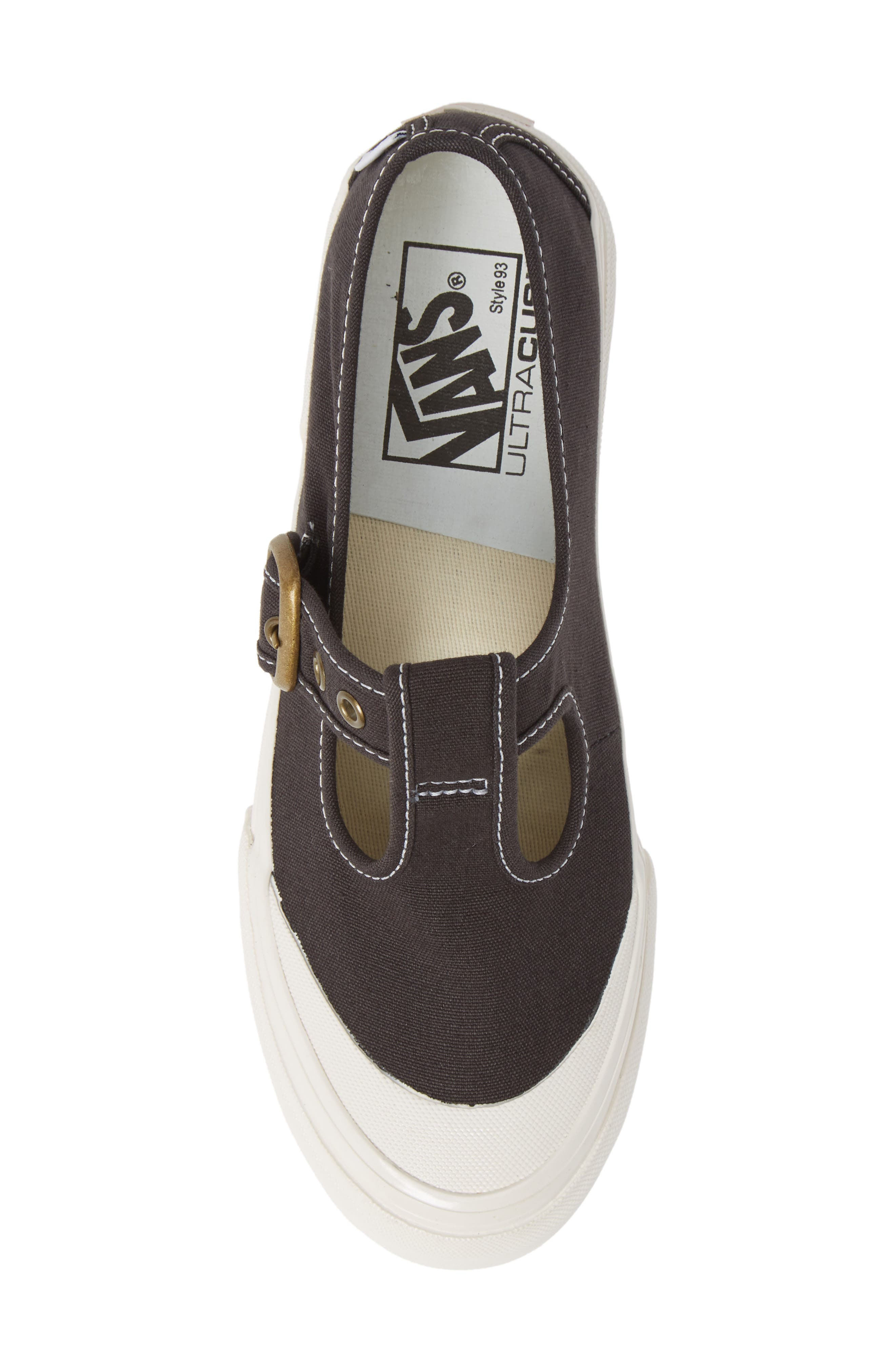 Anaheim Factory 93 DX T-Strap Sneaker,                             Alternate thumbnail 5, color,                             BLACK