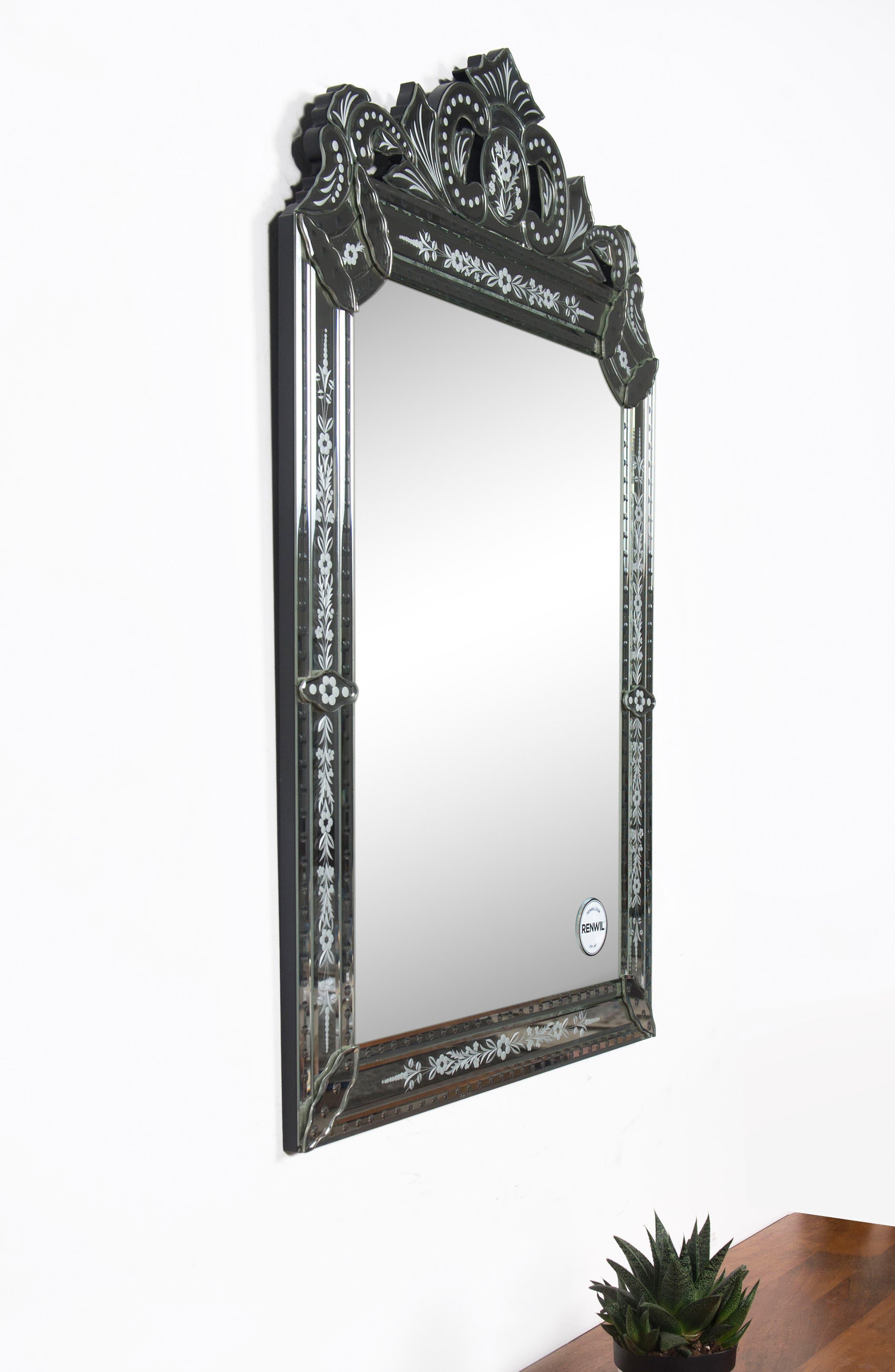 Mansard Mirror,                             Alternate thumbnail 4, color,