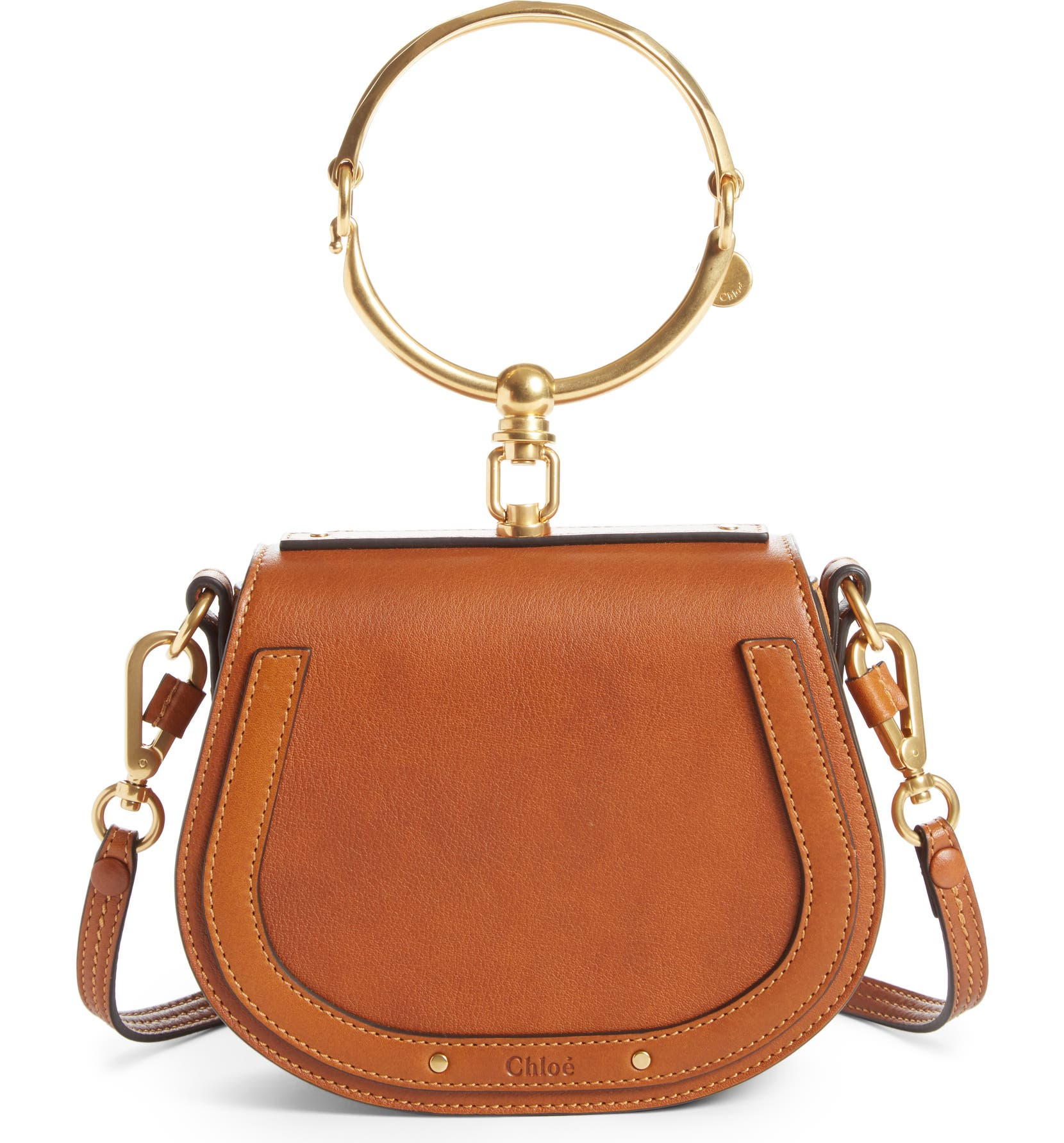 Chloé Small Nile Bracelet Leather Crossbody Bag  affc0cbbe6bc