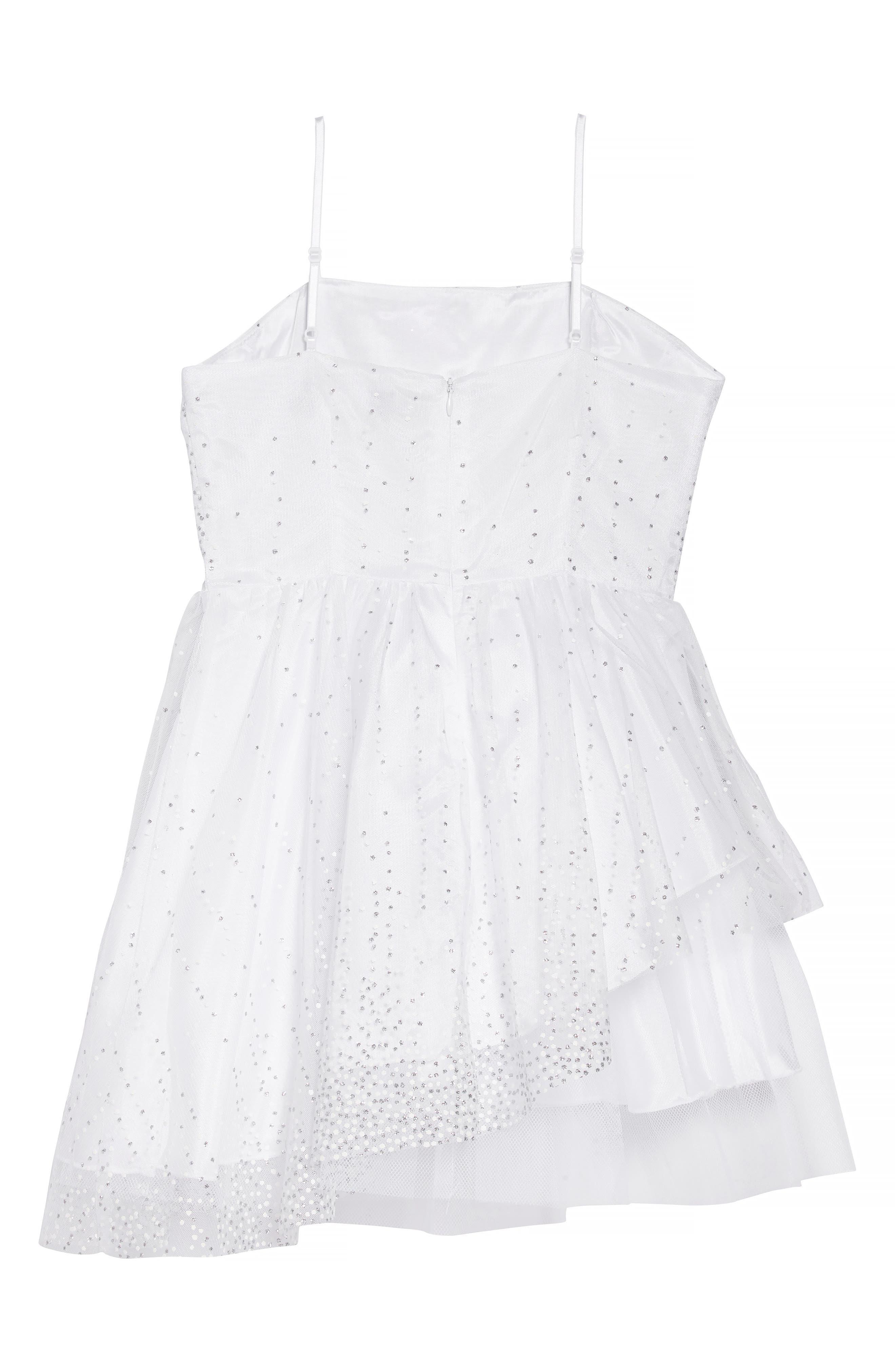 Sequin Dress,                             Alternate thumbnail 2, color,                             100