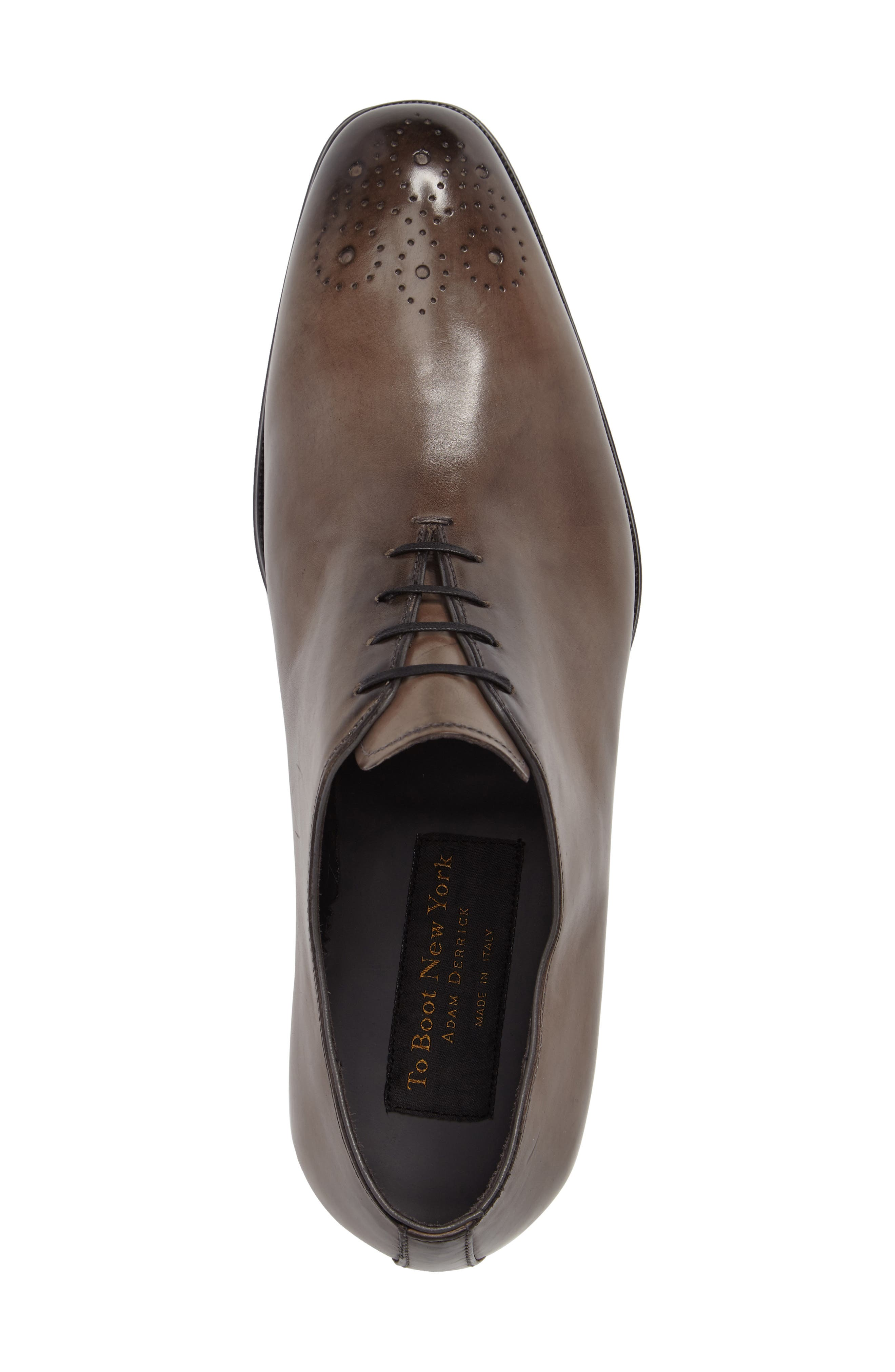 Bateman Brogue Oxford,                             Alternate thumbnail 5, color,                             024