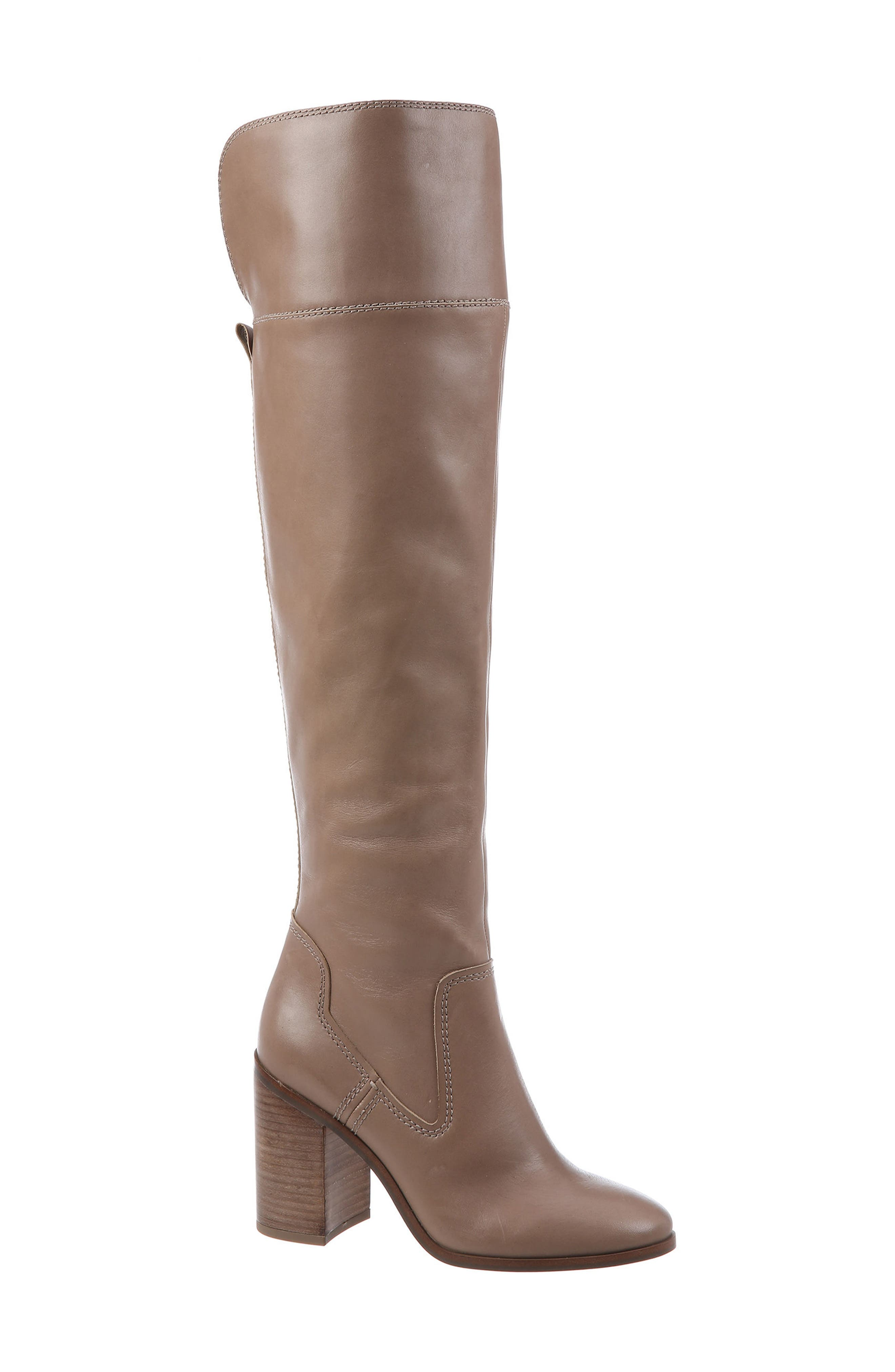 Freda Over the Knee Boot,                             Main thumbnail 4, color,