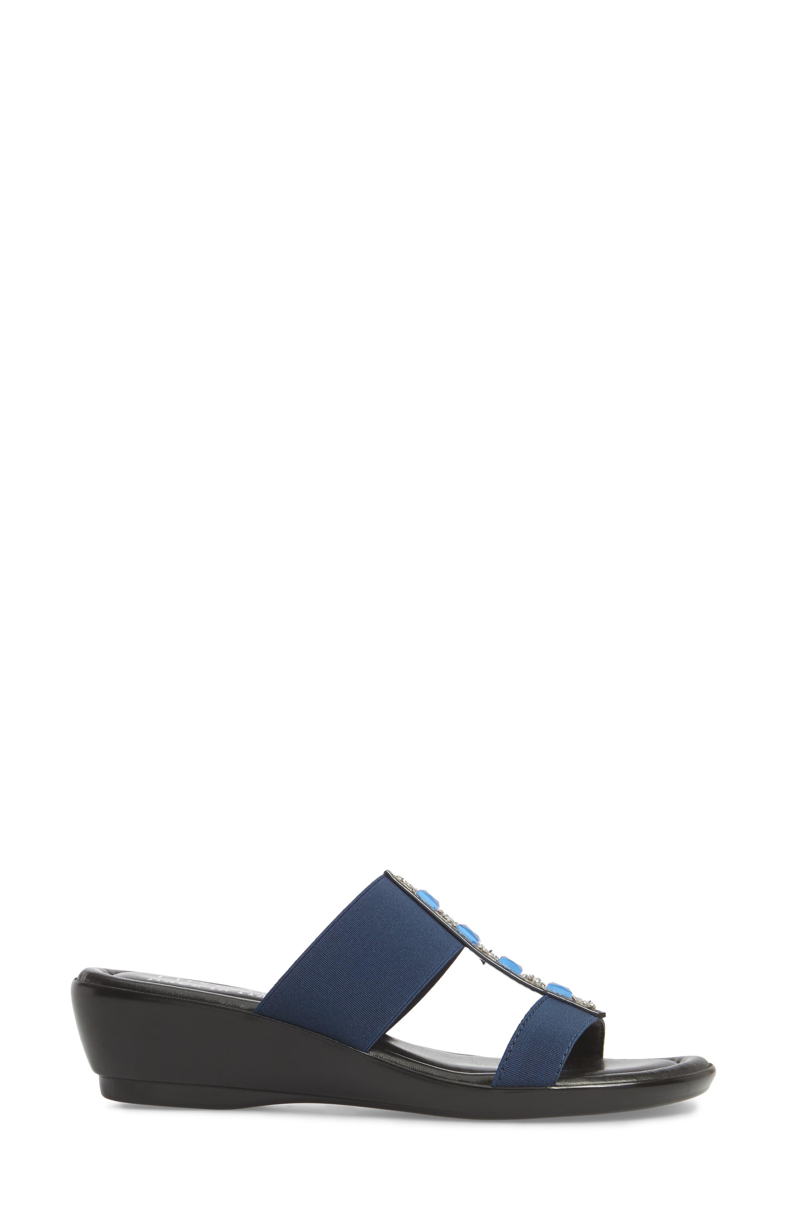 by Easy Street<sup>®</sup> Elba Embellished Slide Sandal,                             Alternate thumbnail 11, color,