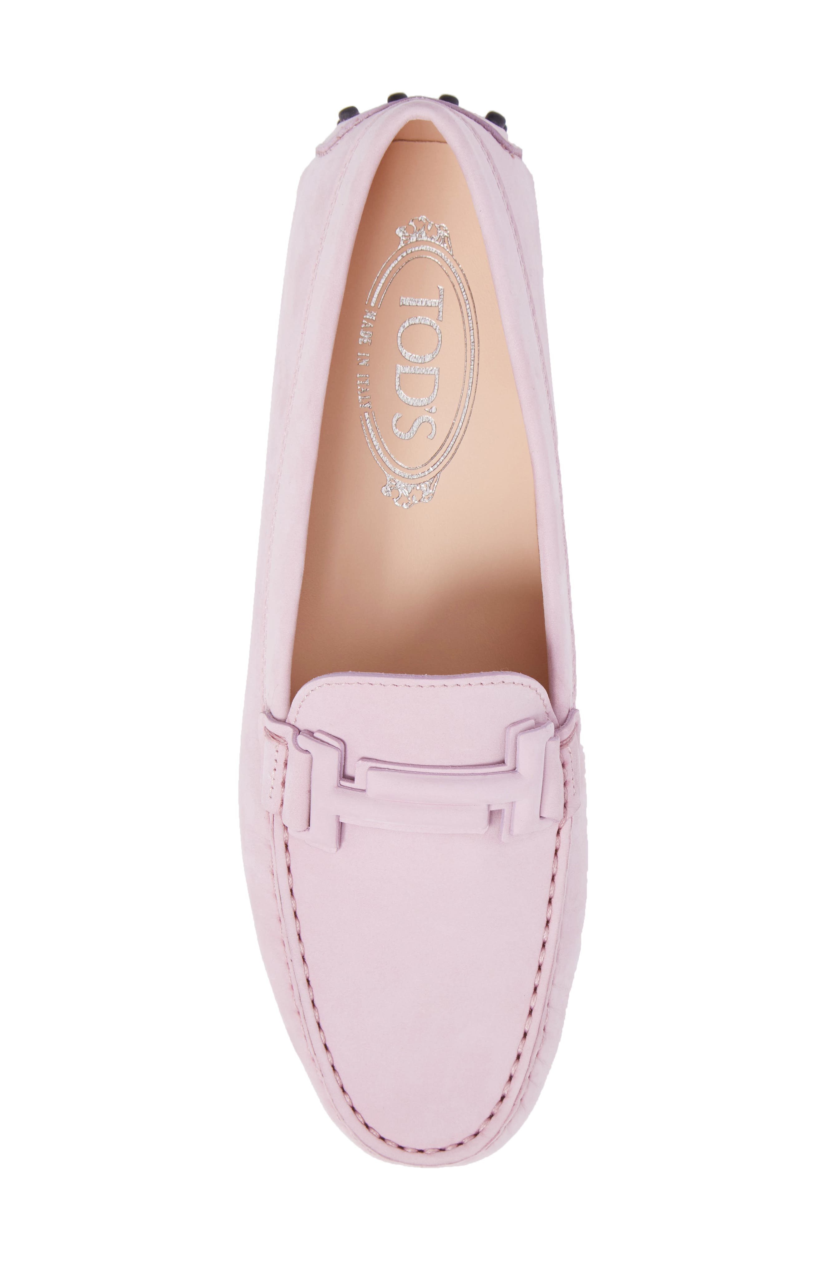 Gommini Covered Double T Loafer,                             Alternate thumbnail 14, color,