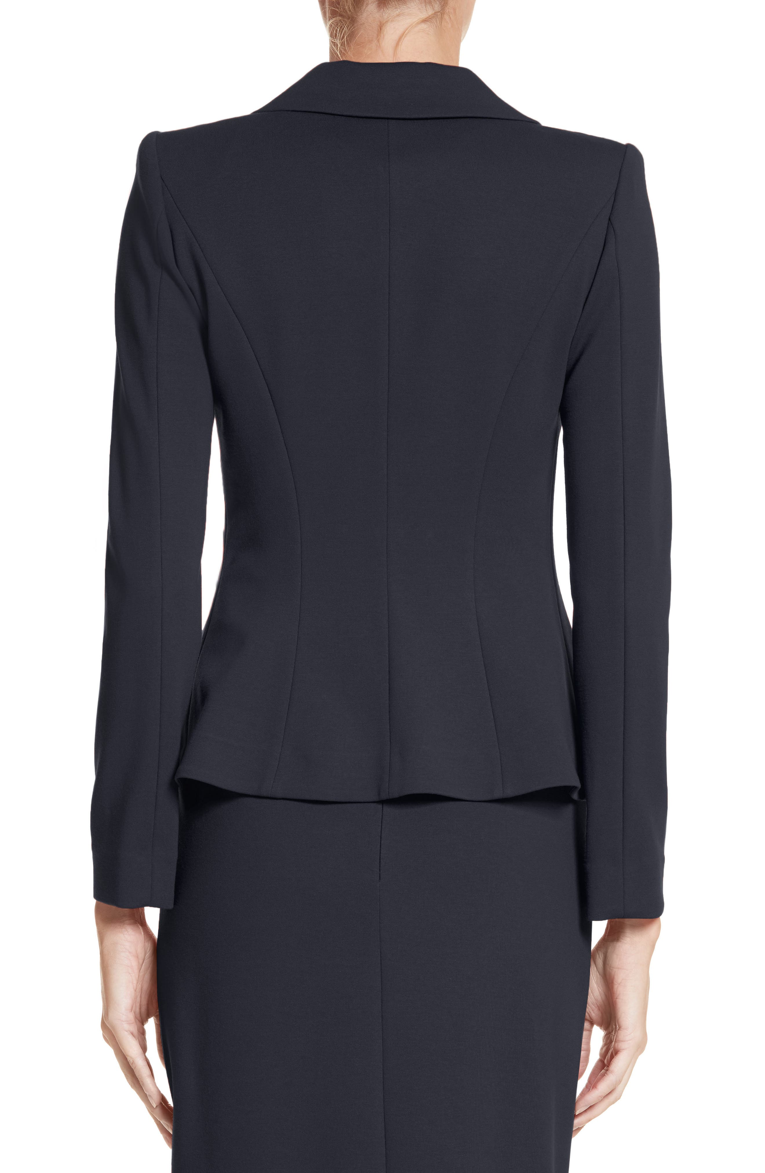 Asymmetrical Pleated Front Jacket,                             Alternate thumbnail 2, color,                             414