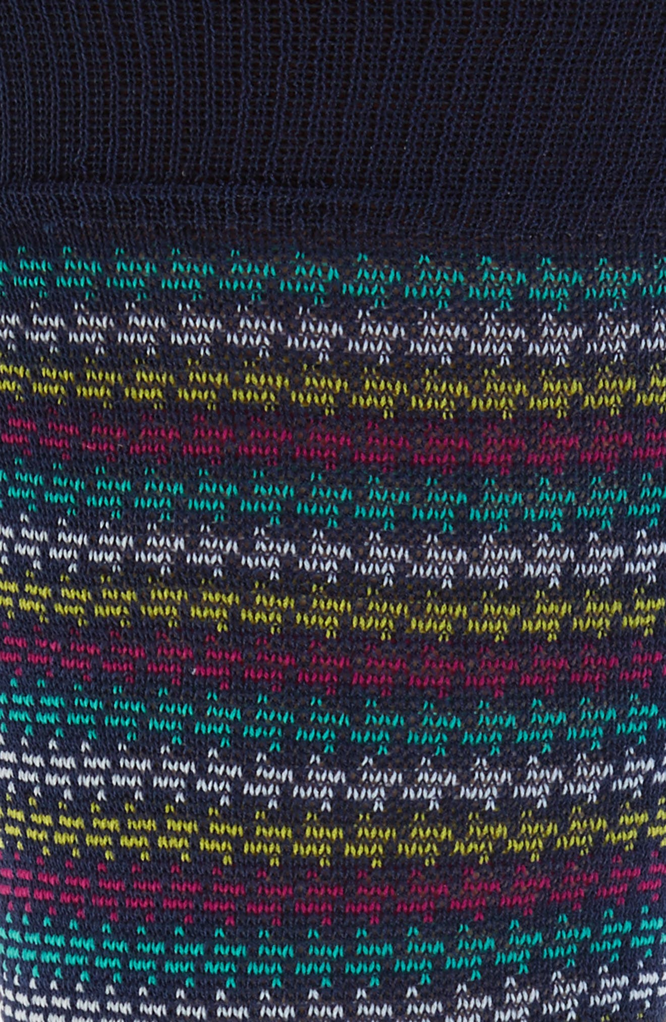 Houndstooth Stripe Crew Socks,                             Alternate thumbnail 2, color,                             402