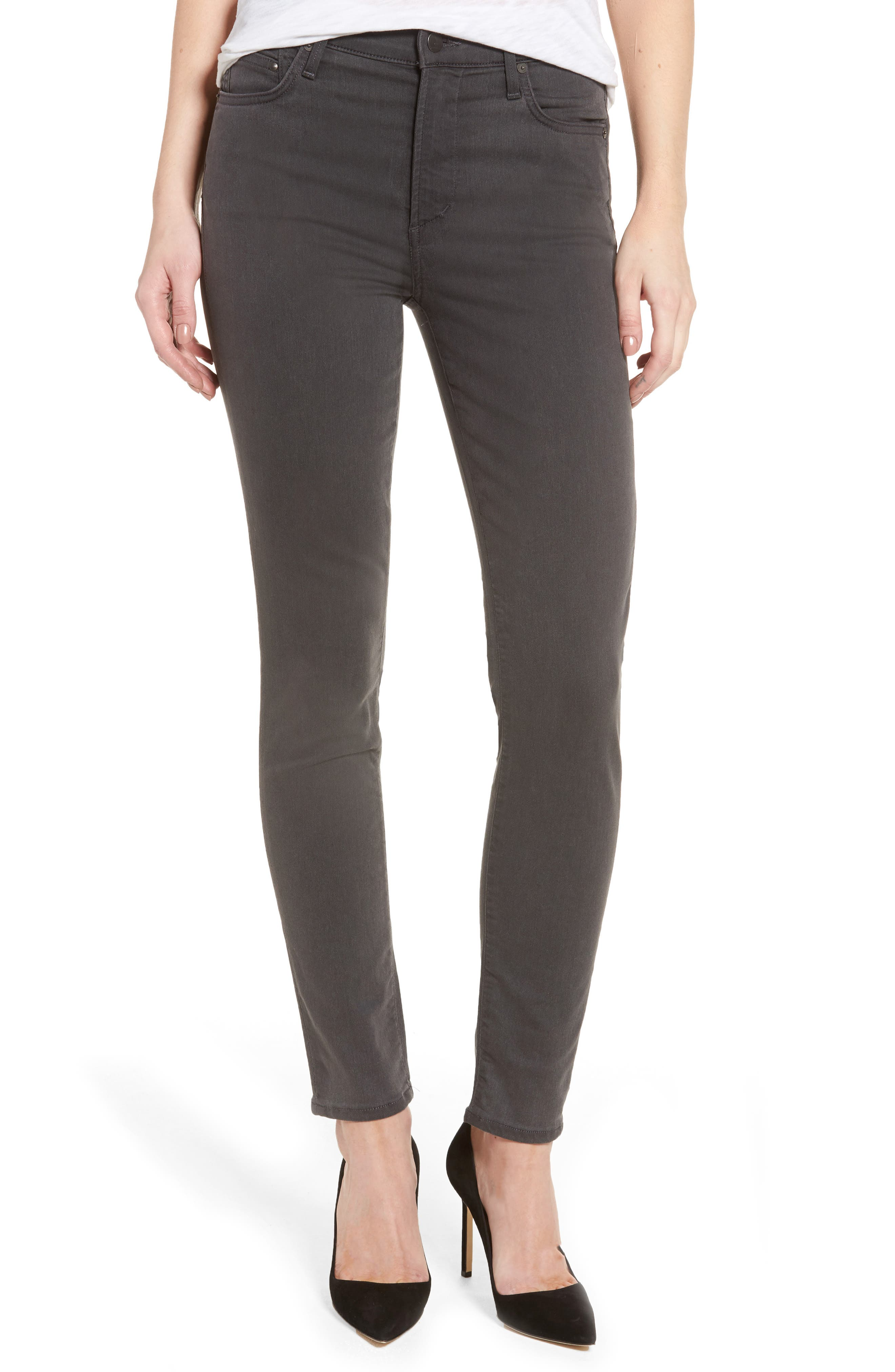 Rocket Petite High Waist Skinny Jeans,                         Main,                         color, 034