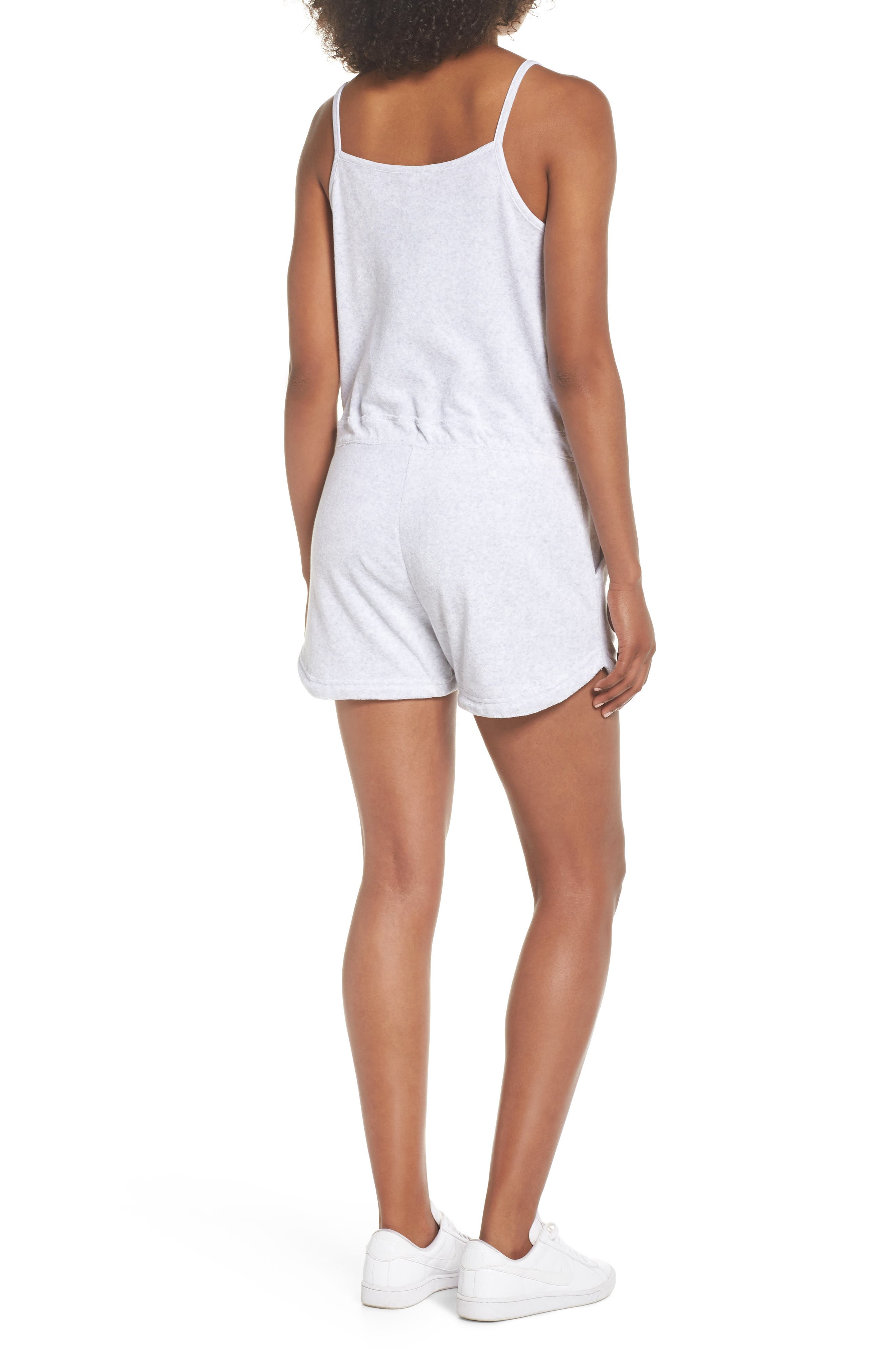 Sportswear Terry Romper,                             Alternate thumbnail 7, color,