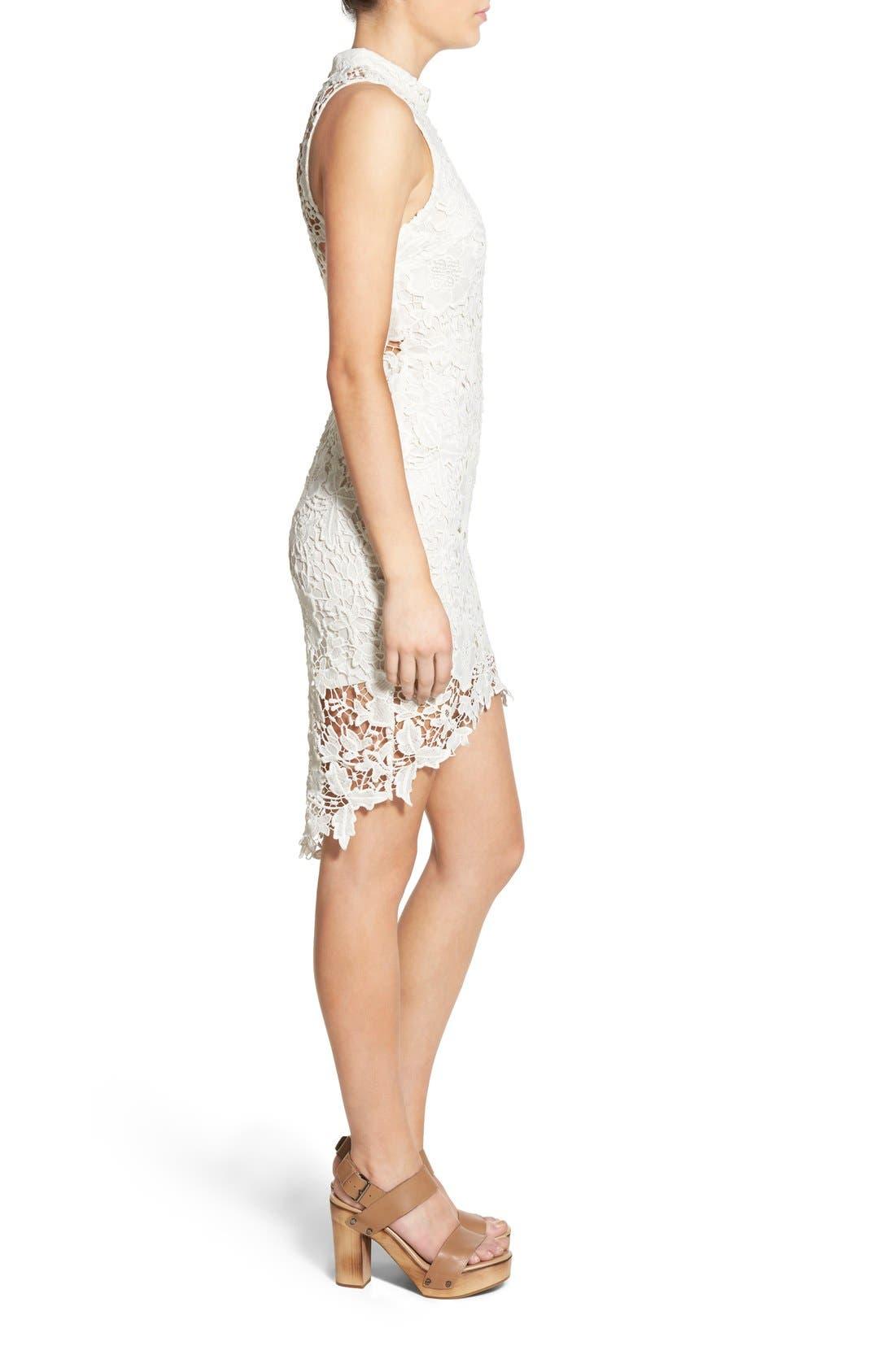 'Samantha' Lace Dress,                             Alternate thumbnail 24, color,