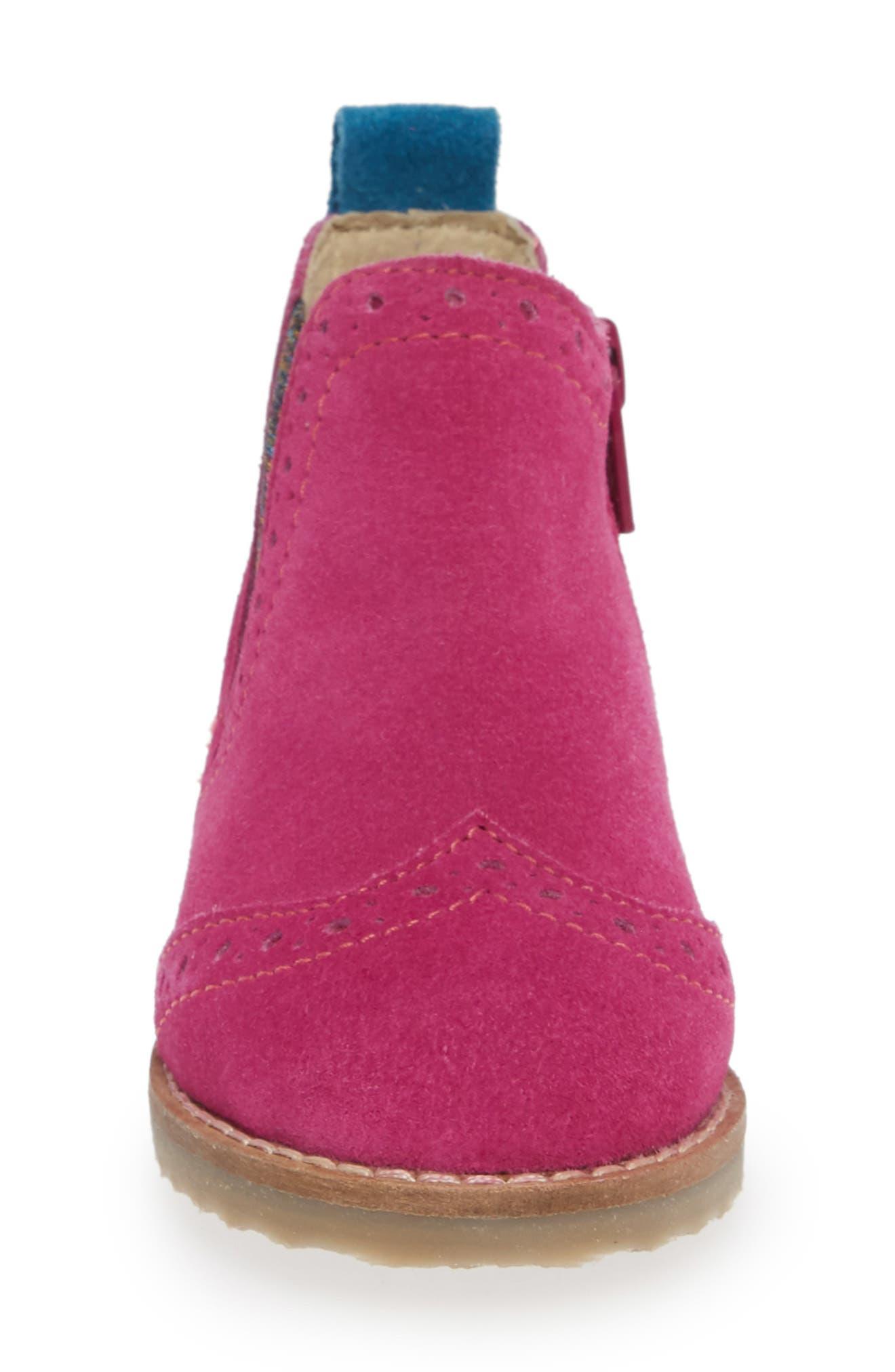 Chelsea Boot,                             Alternate thumbnail 4, color,                             REGAL PURPLE