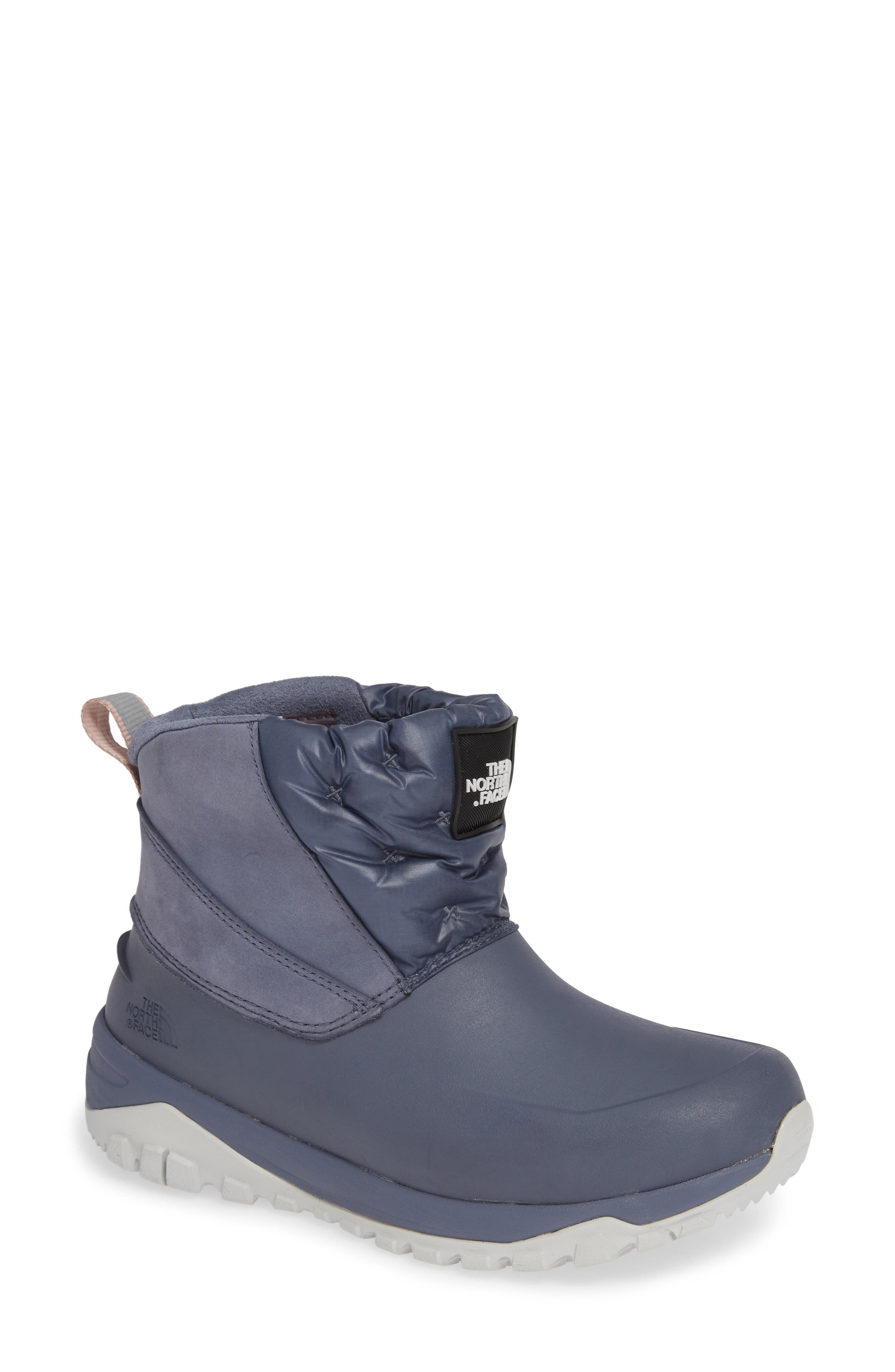 Yukiona Waterproof Ankle Boot,                             Main thumbnail 1, color,                             GRISAILLE GREY/ TIN GREY