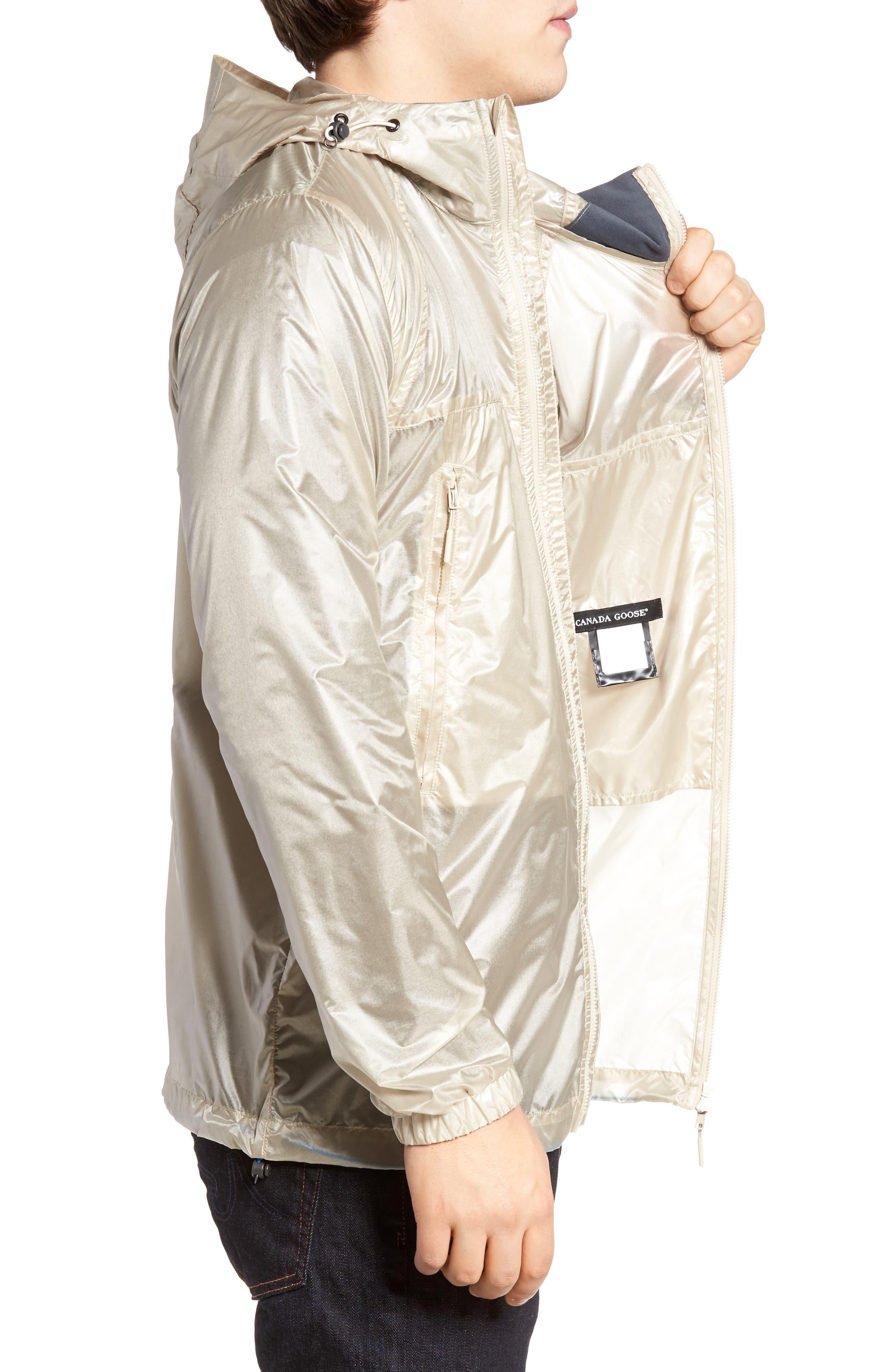 Sandpoint Regular Fit Water Resistant Jacket,                             Alternate thumbnail 3, color,                             SANDBANK