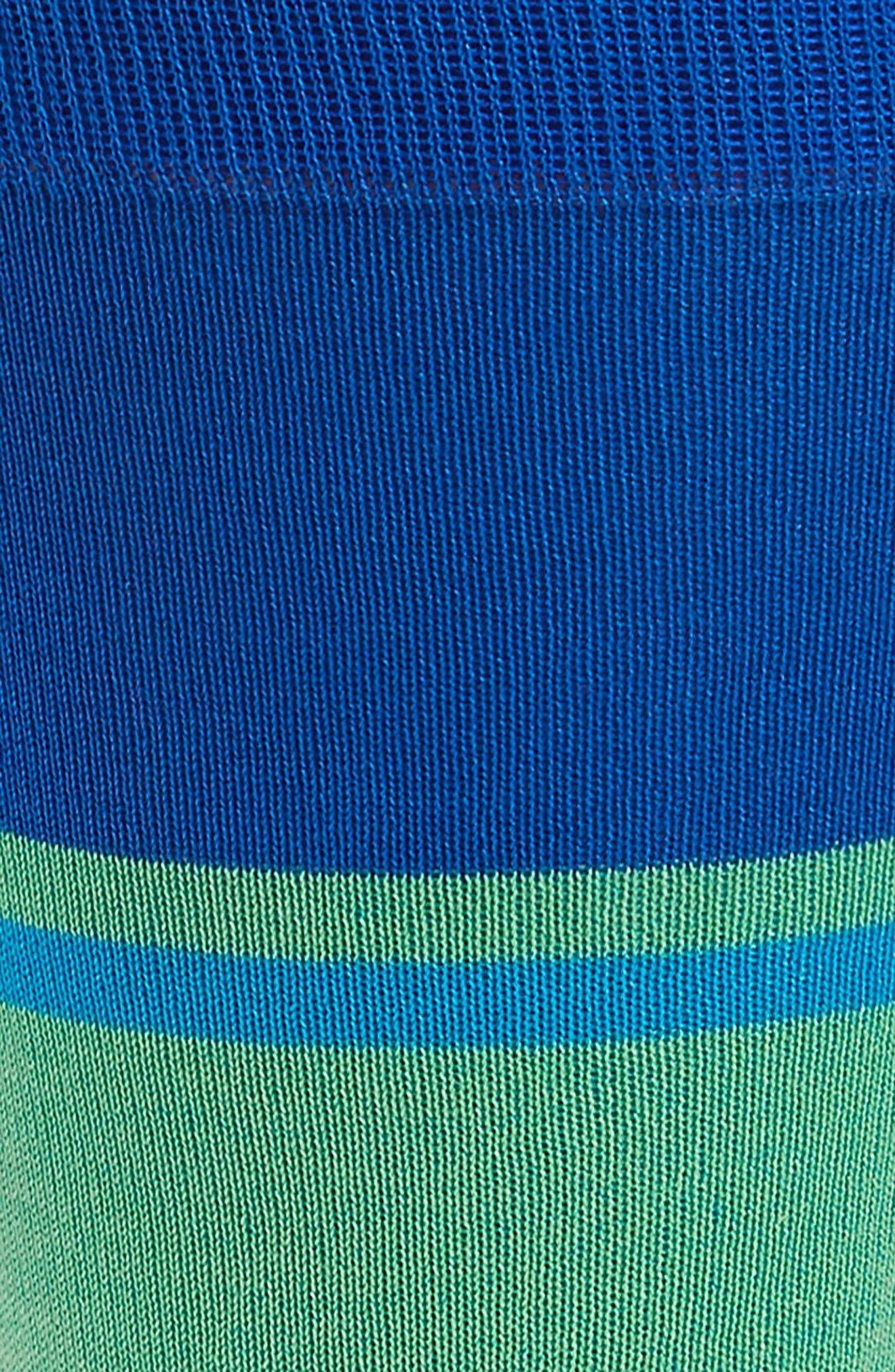 Block Stripe Socks,                             Alternate thumbnail 2, color,                             401