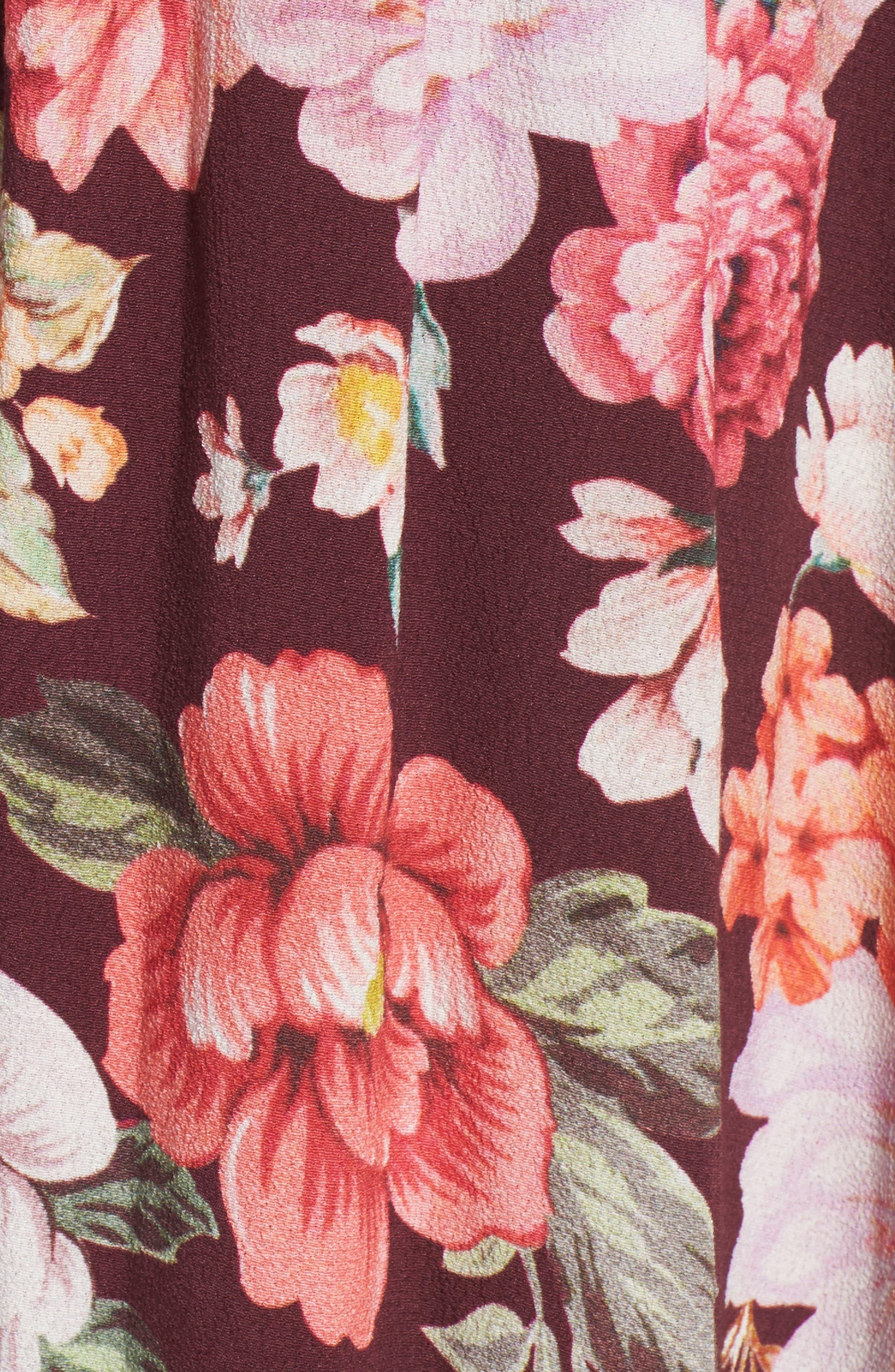 MAJORELLE,                             Sweet Pea Maxi Dress,                             Alternate thumbnail 5, color,                             003