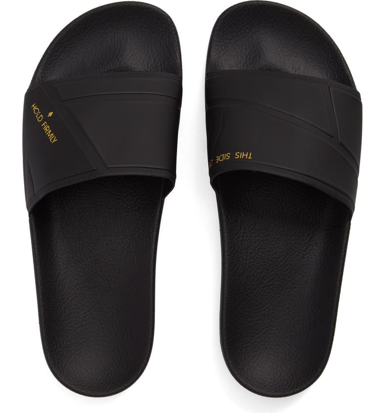 new product 49a9e d9eab RAF SIMONS adidas by Raf Simons Bunny Adilette Slide Sandal, Main, color,  001