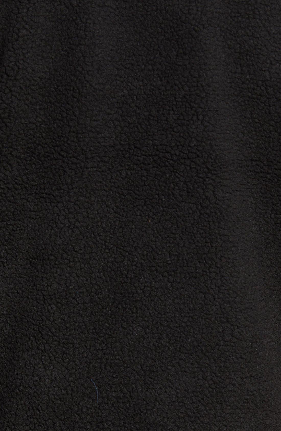 Mattawa Zip Fleece Jacket,                             Alternate thumbnail 3, color,                             001
