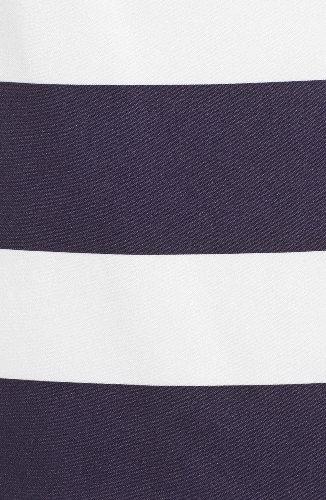 Embellished Mikado Dress,                             Alternate thumbnail 6, color,                             407