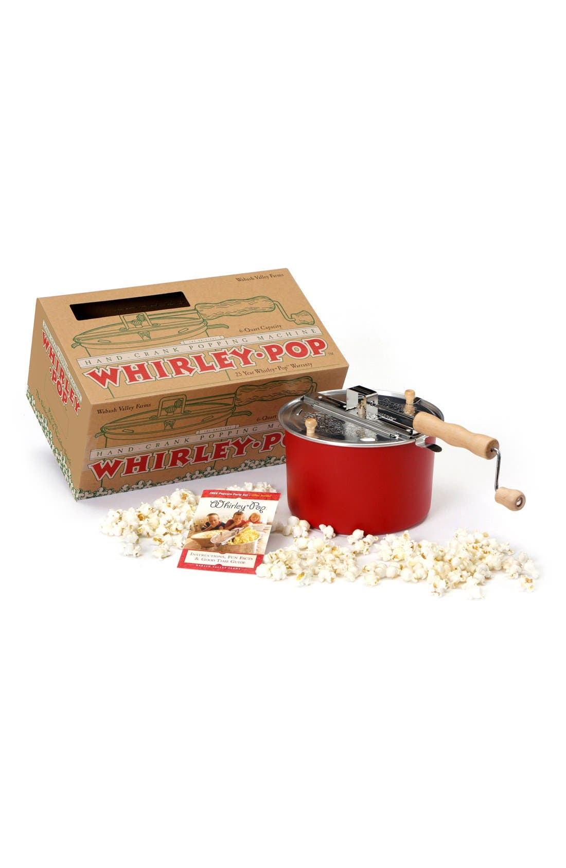 'Whirley Pop' Hand Crank Stovetop Popcorn Popper,                             Alternate thumbnail 3, color,                             600