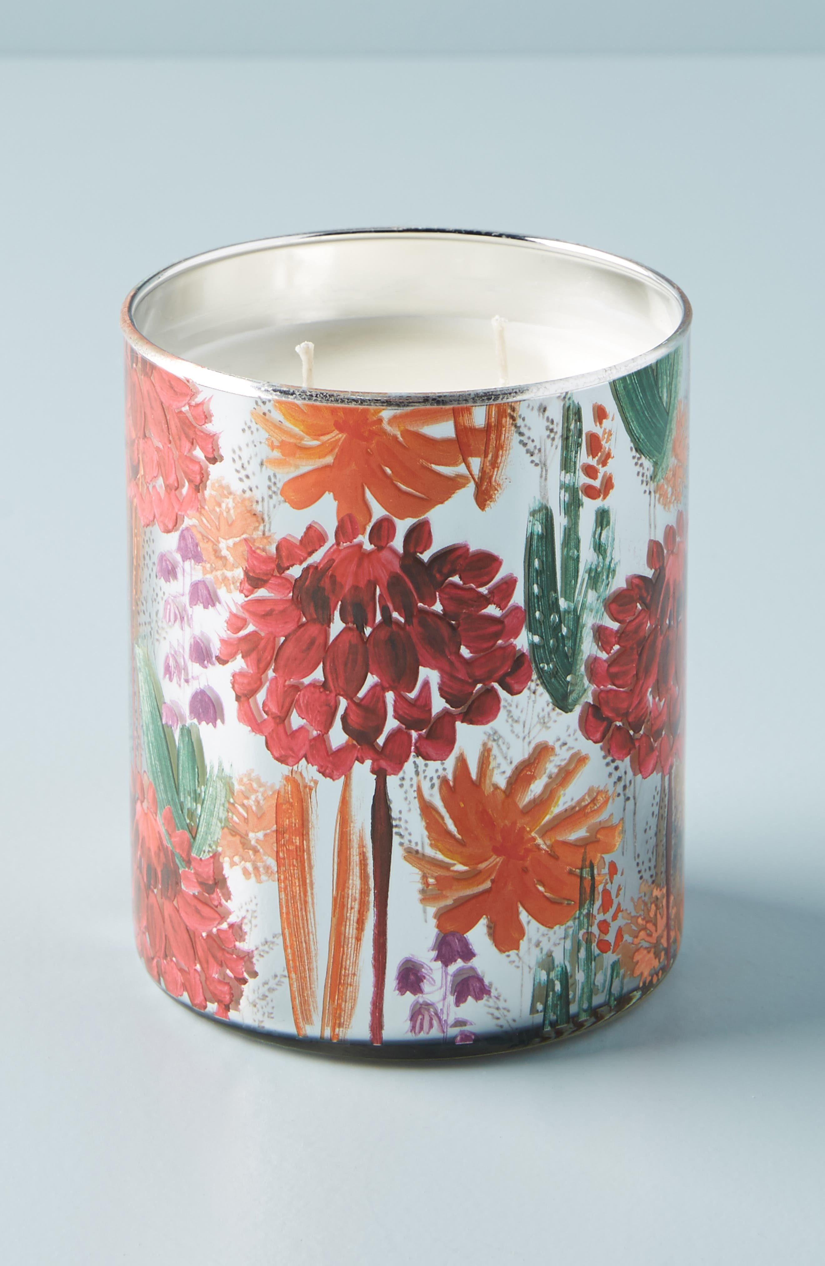 Radcliffe Large Scented Candle,                             Alternate thumbnail 2, color,                             PINK - DAHLIA PLUM SCENT