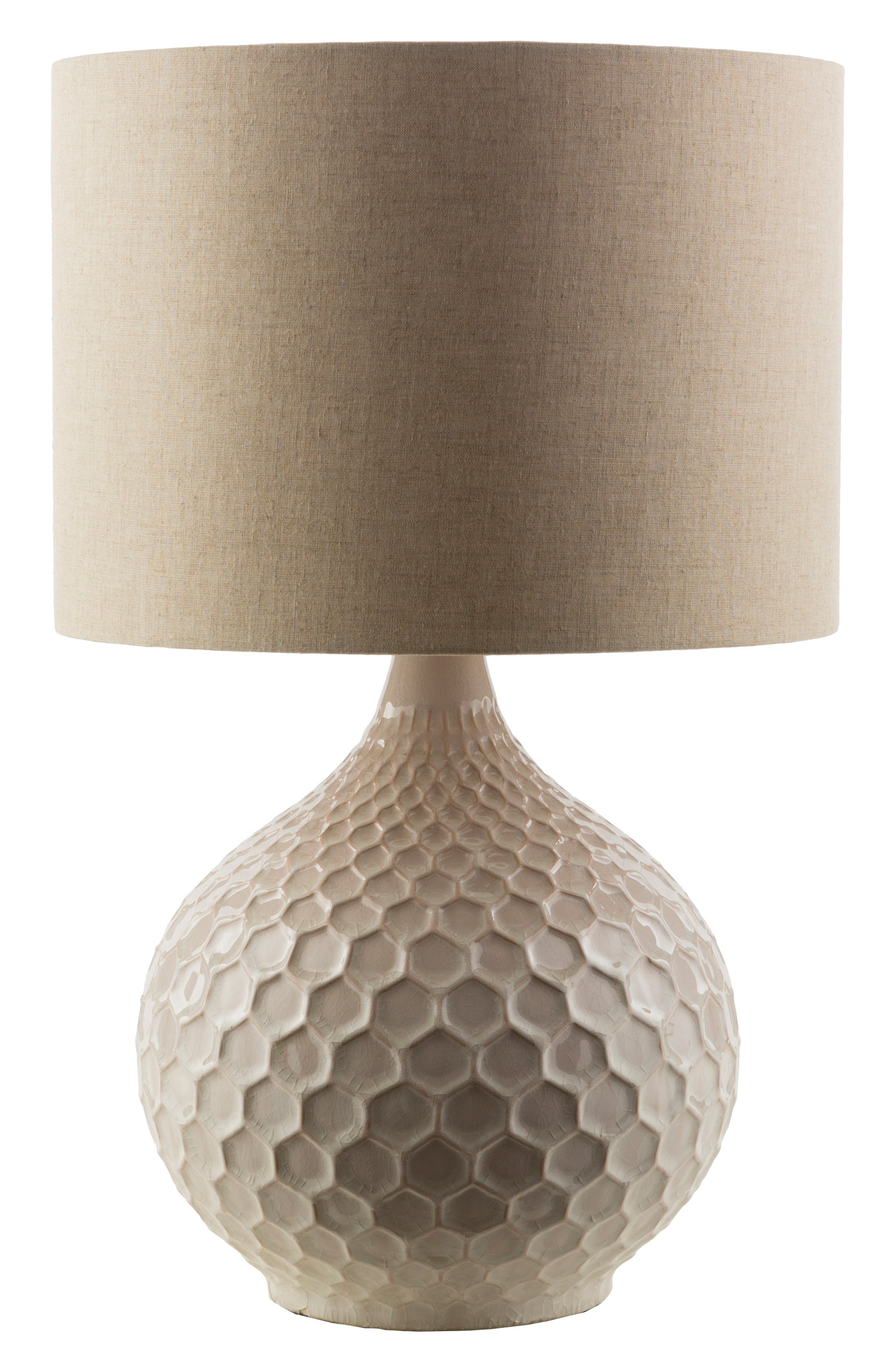 Surya Home Blakely Table Lamp Size One Size  Beige
