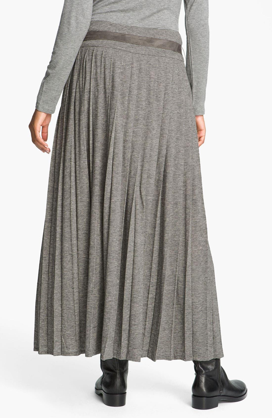 'Amburgo' Jersey Skirt,                             Alternate thumbnail 3, color,                             054
