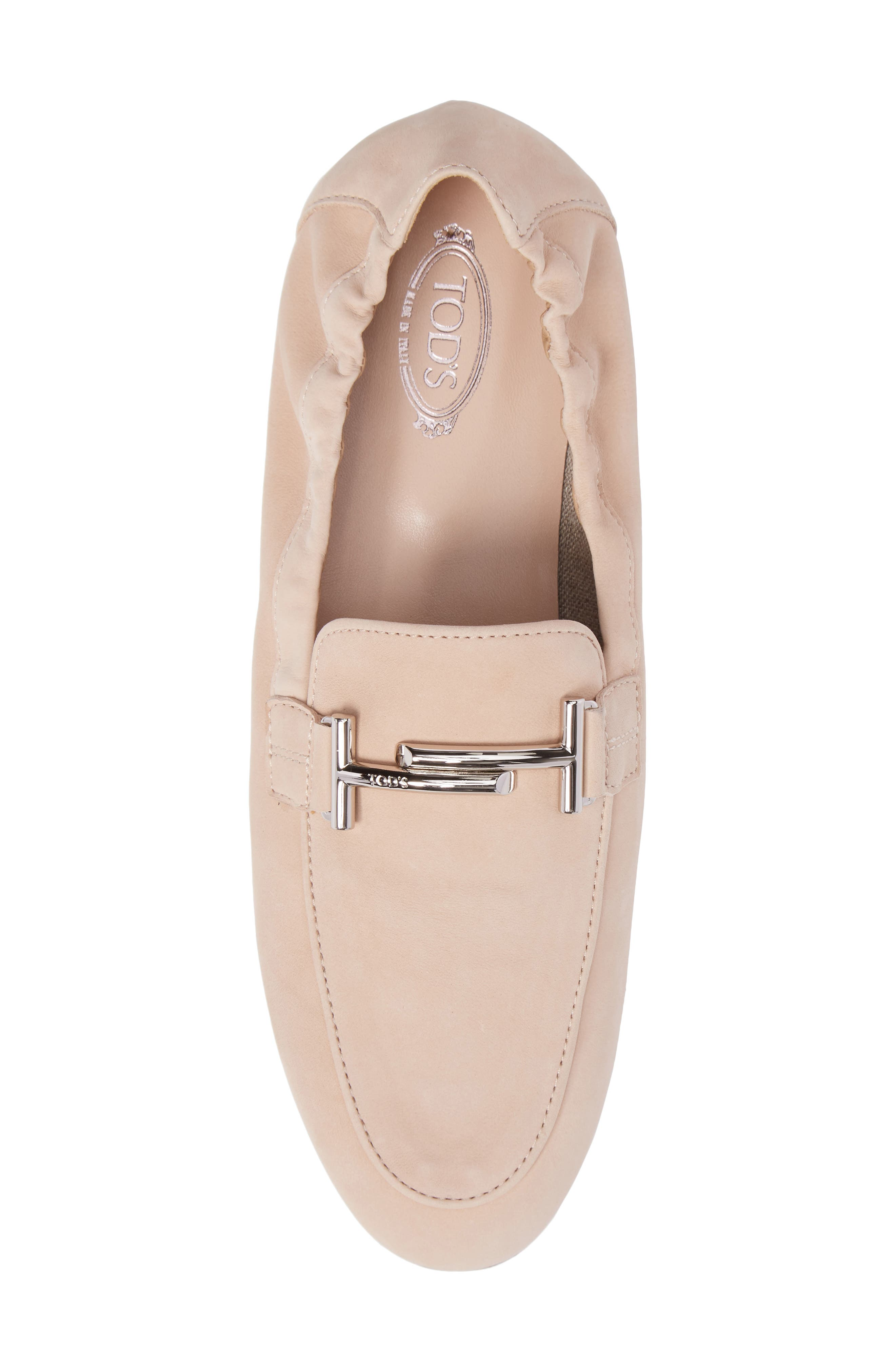 Double T Scrunch Loafer,                             Alternate thumbnail 19, color,