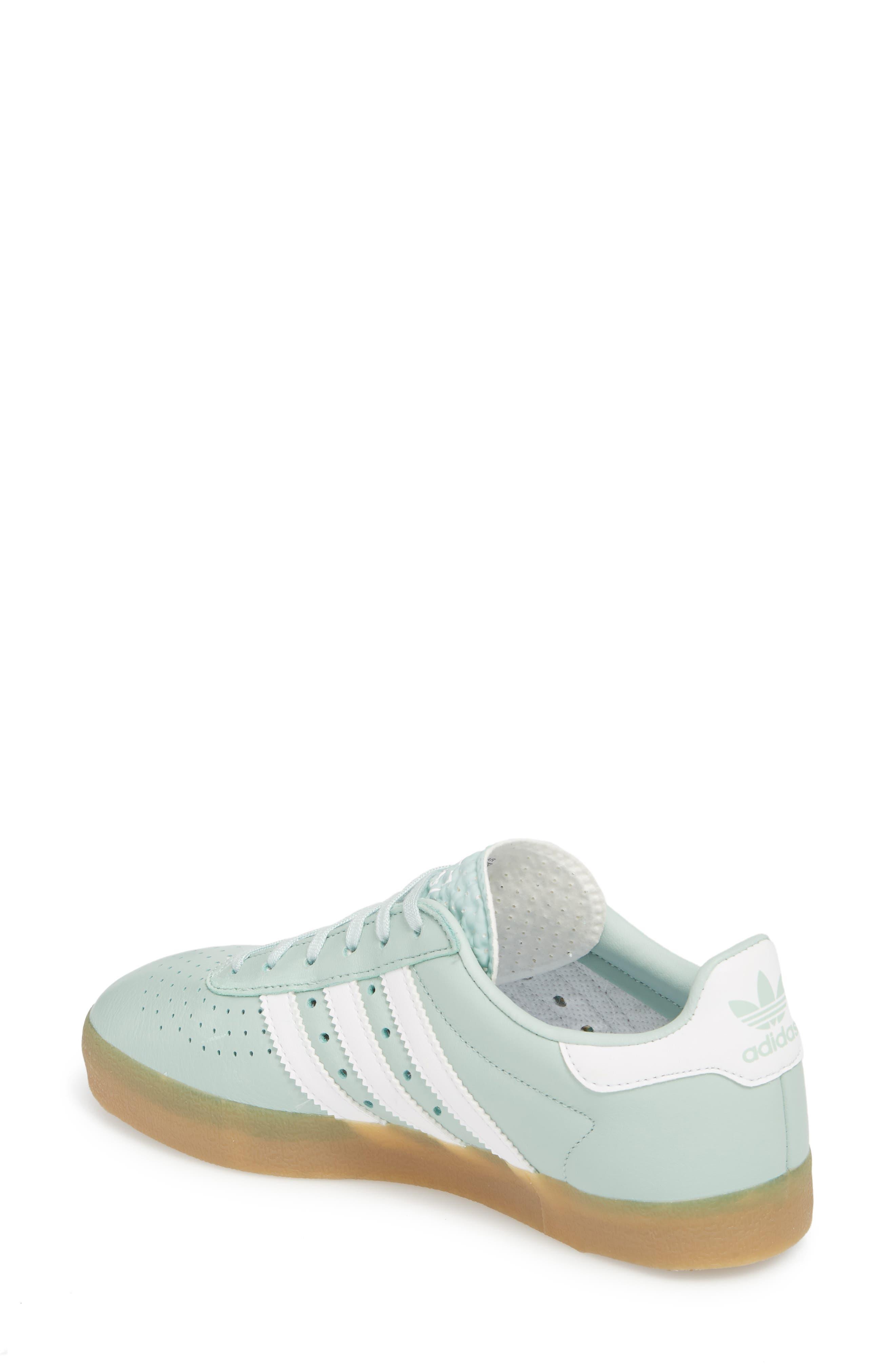 350 Sneaker,                             Alternate thumbnail 2, color,                             ASH GREEN/ WHITE/ GUM