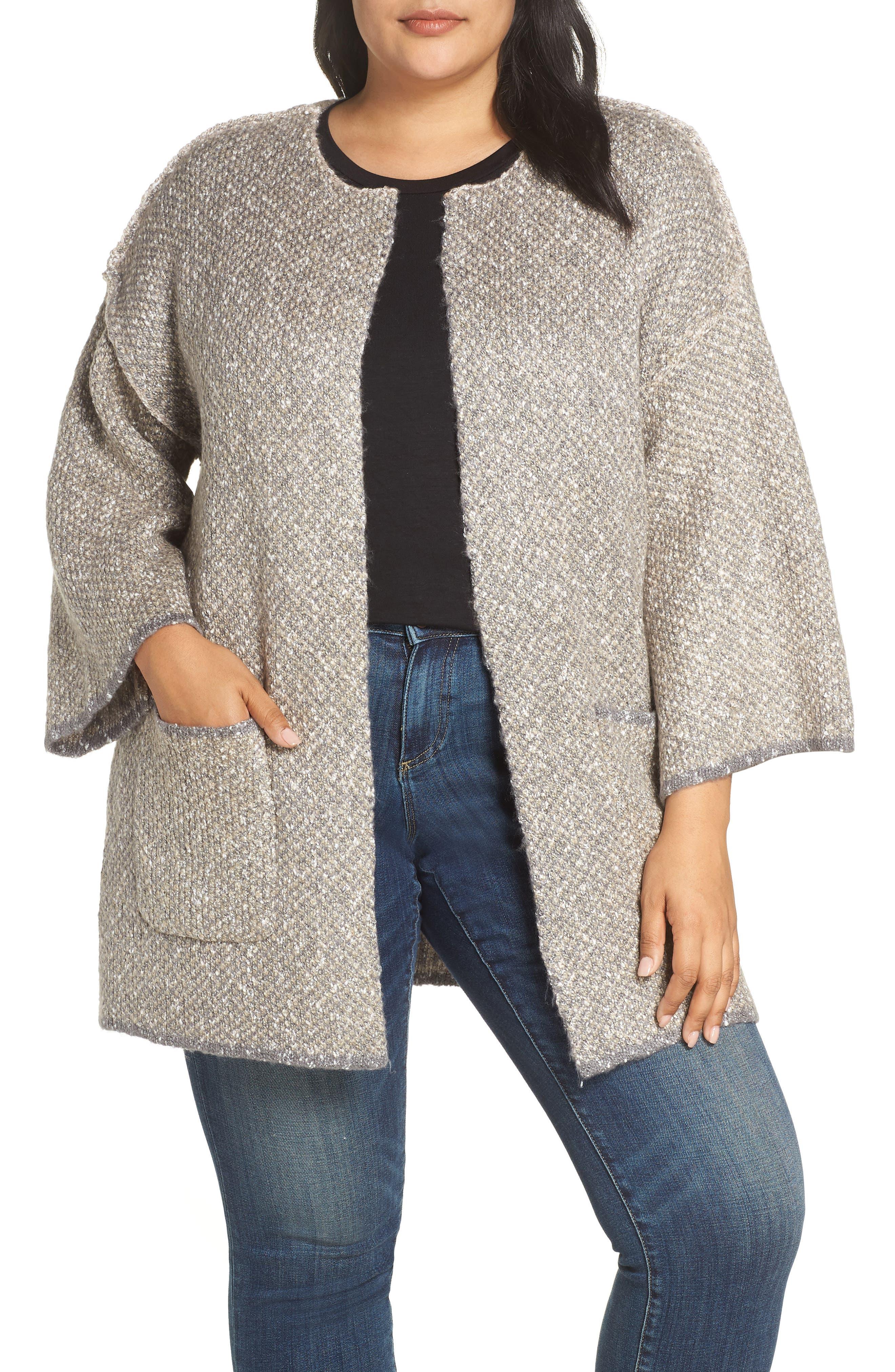 Reversible Jacket,                         Main,                         color, OATMEAL