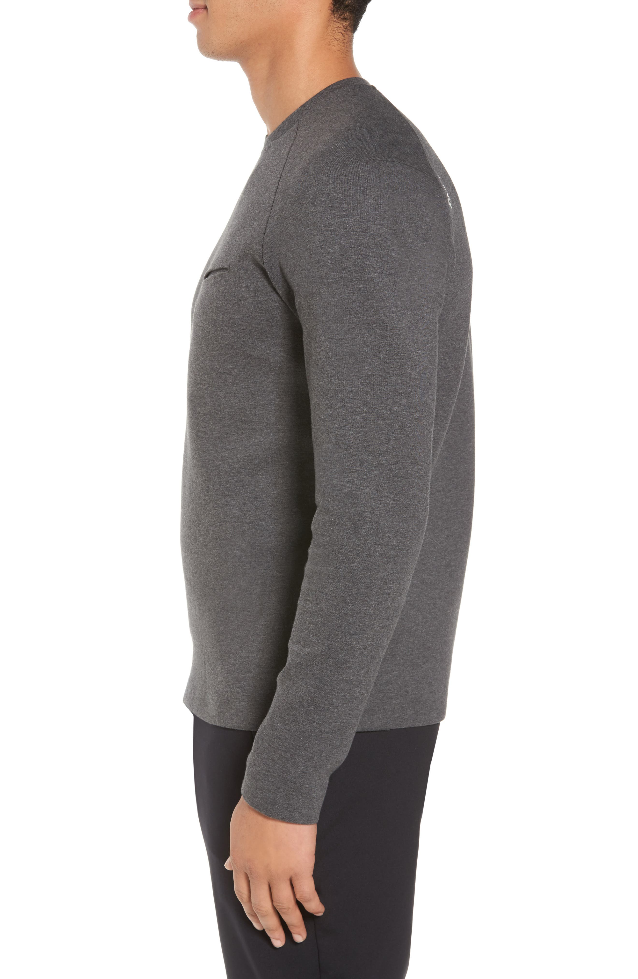 Ethos Cotton Blend Sweater,                             Alternate thumbnail 3, color,                             021