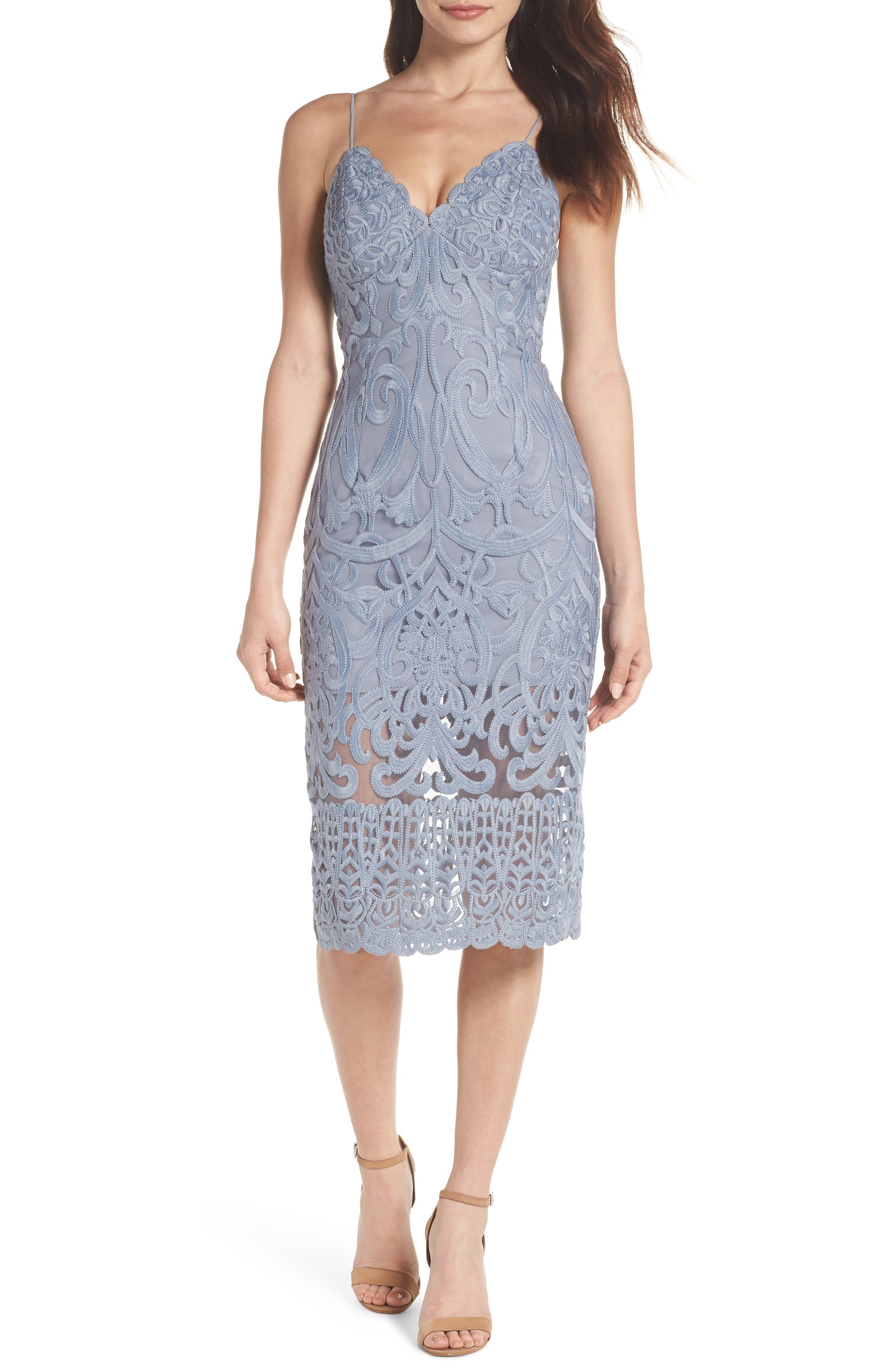 Gia Lace Pencil Dress,                             Main thumbnail 2, color,