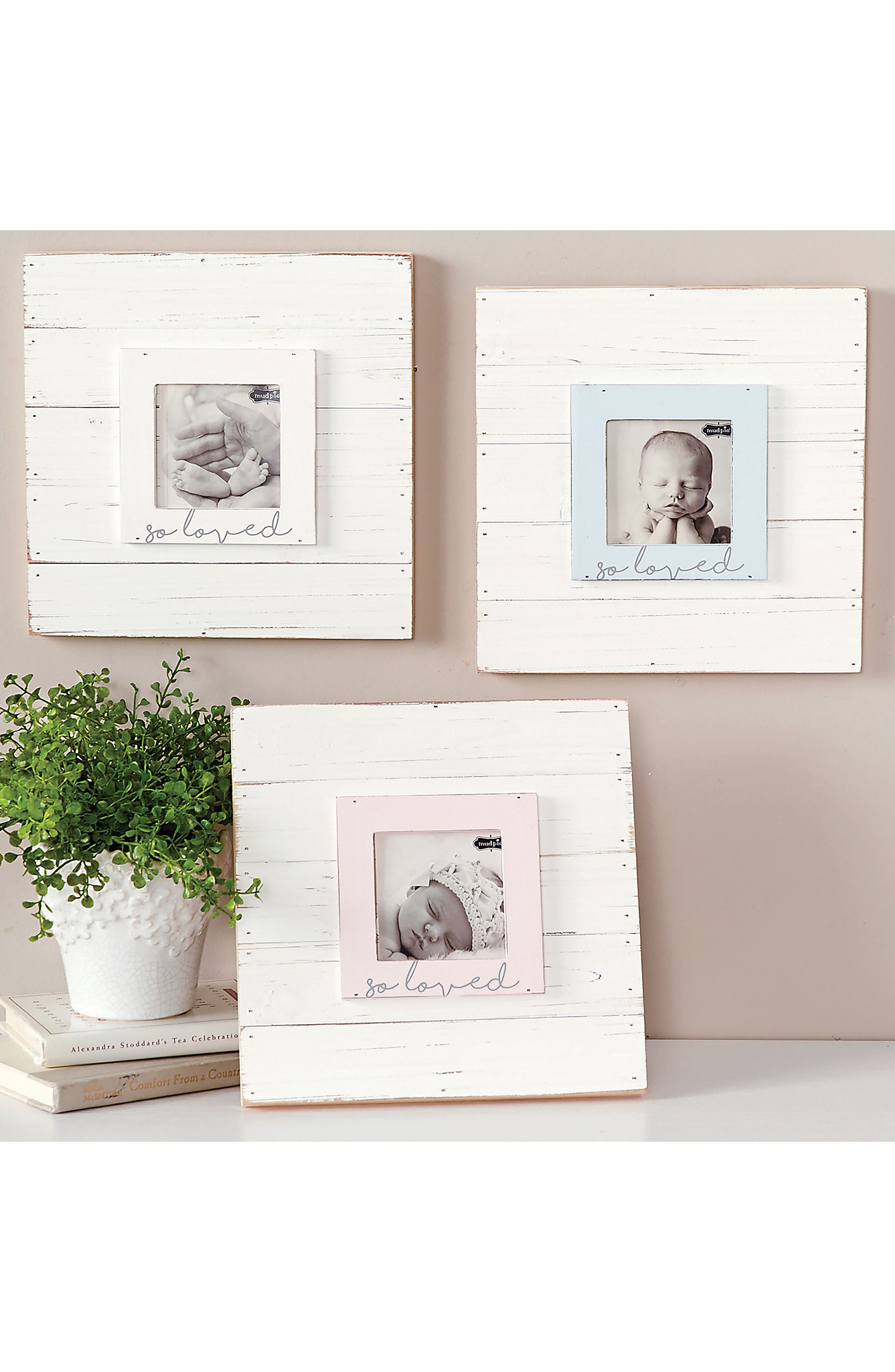 So Loved Wood Picture Frame,                             Alternate thumbnail 7, color,