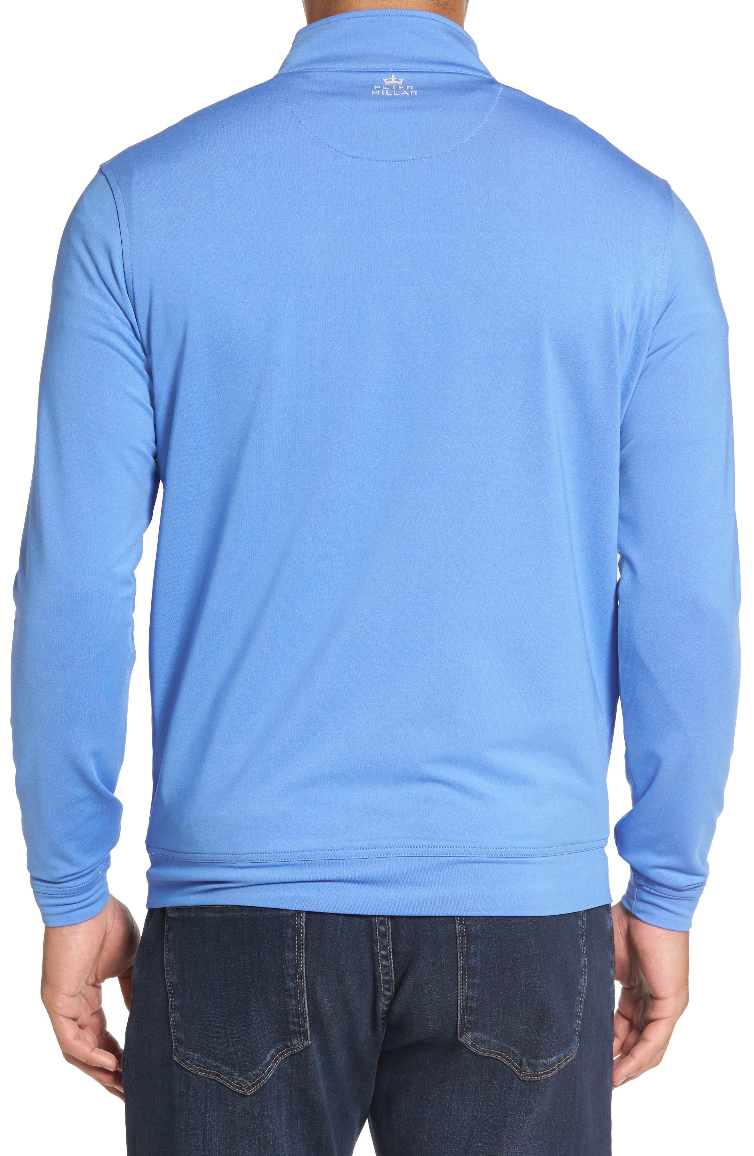 Perth Quarter Zip Stretch Pullover,                             Alternate thumbnail 8, color,