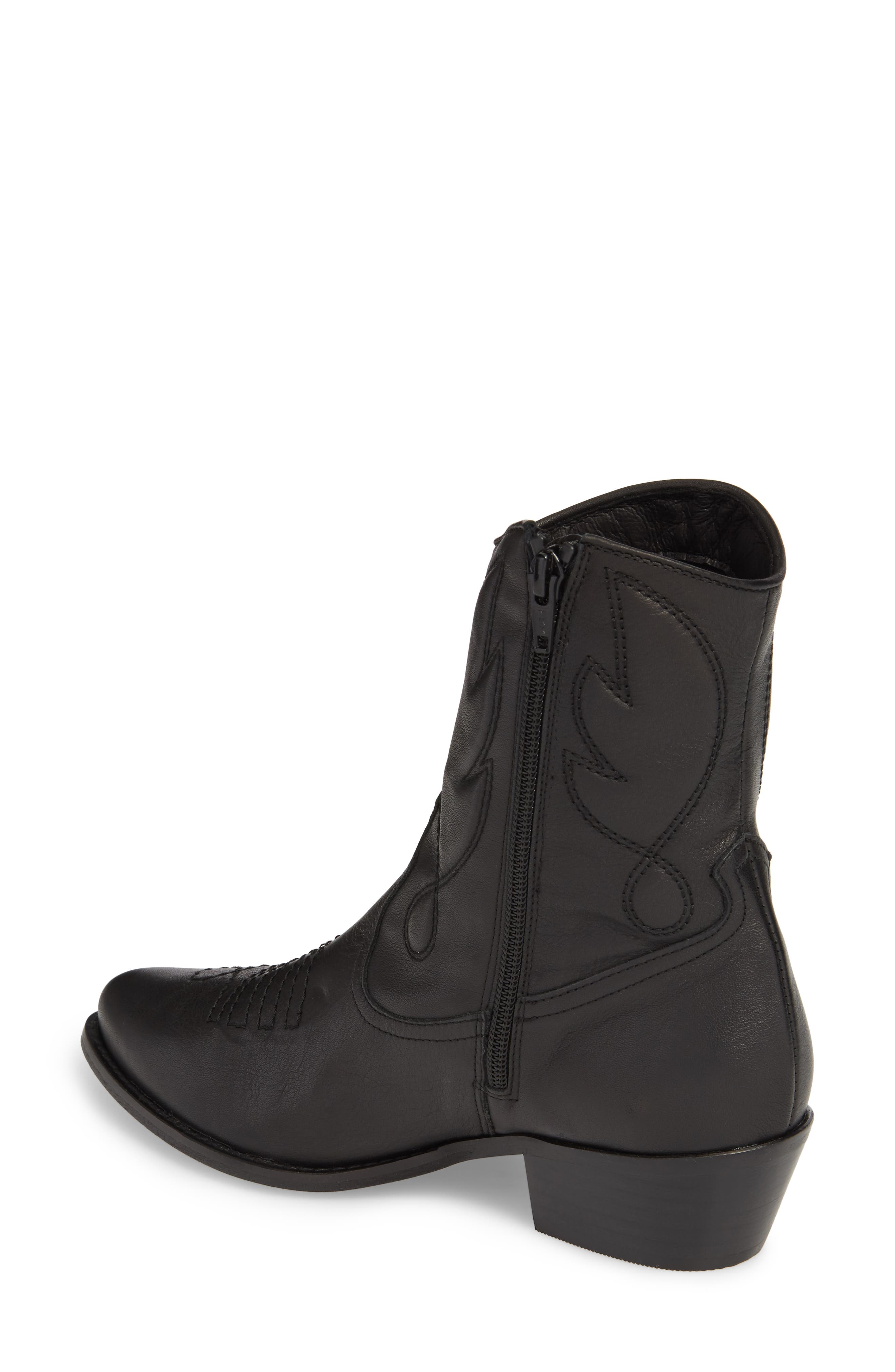 Arizona Western Boot,                             Alternate thumbnail 2, color,                             001