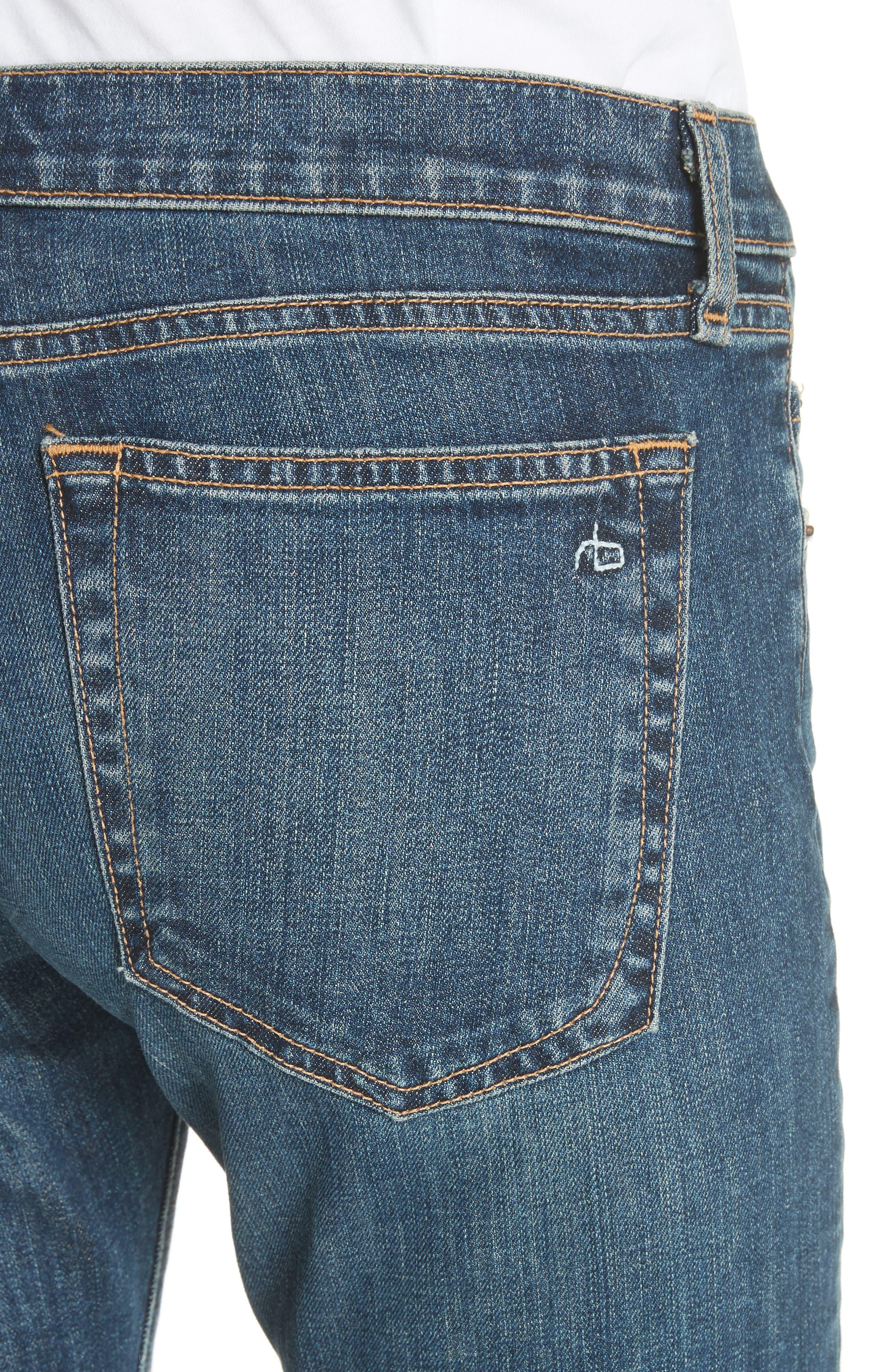 The Dre Slim Boyfriend Jeans,                             Alternate thumbnail 4, color,