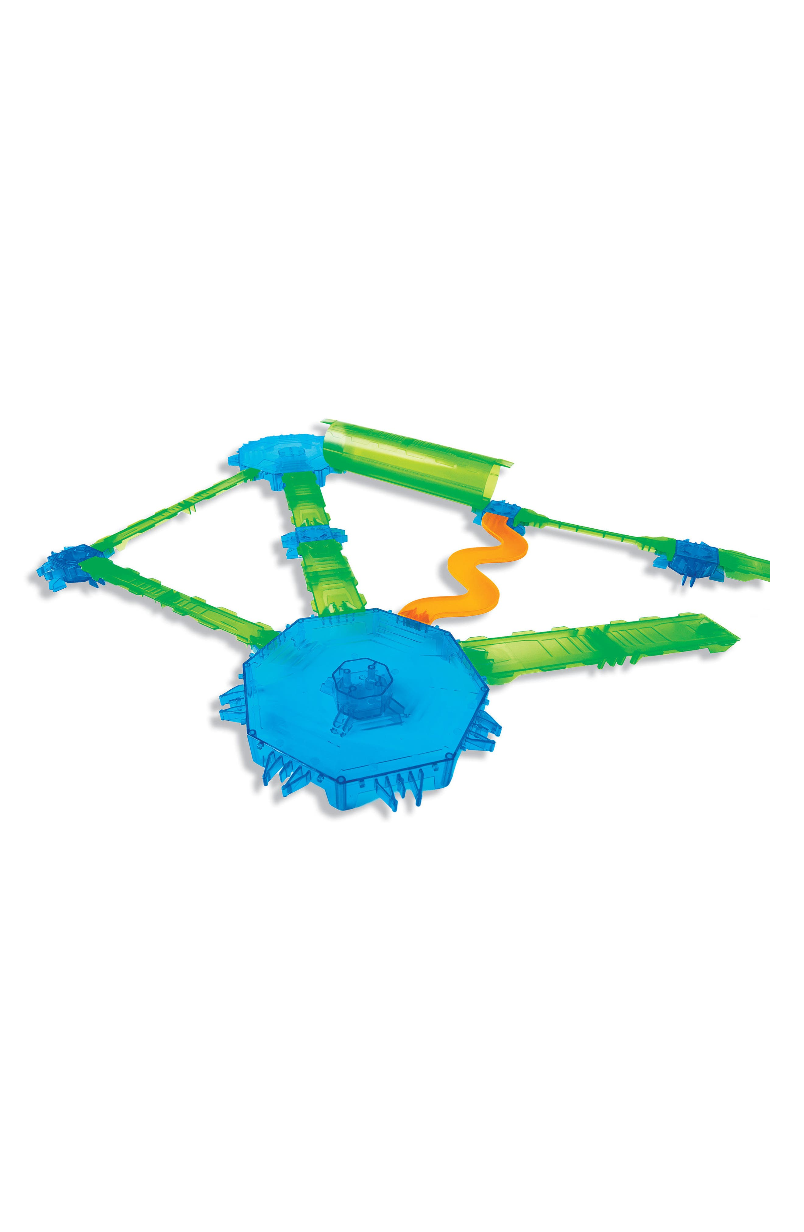 Spinos Mega Trax Challenge 19-Piece Magnetic Toy,                         Main,                         color,
