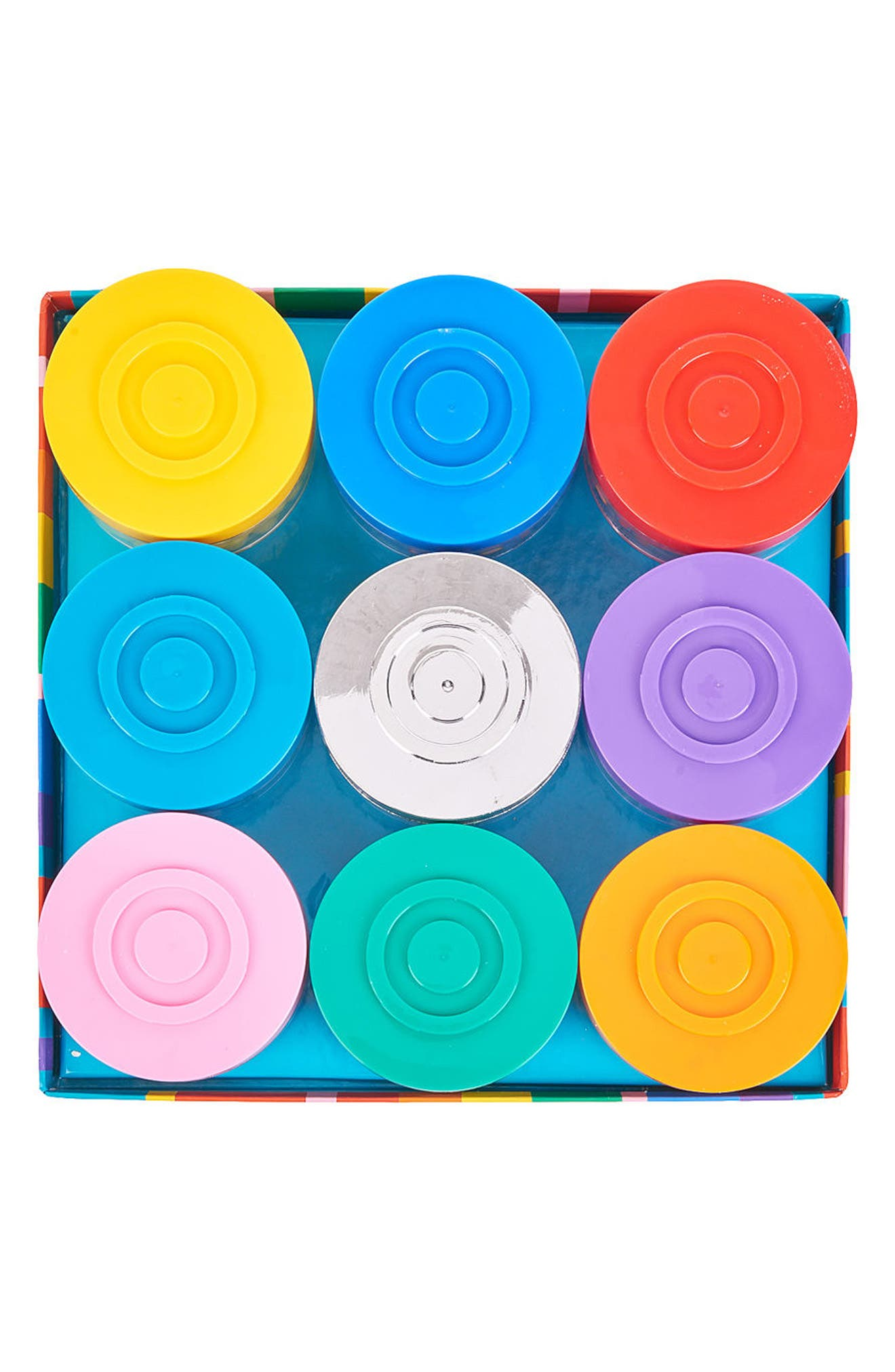 Stack-A-Round Deluxe 9-Pack Signature Gift Set,                             Alternate thumbnail 3, color,                             BLUE MULTI