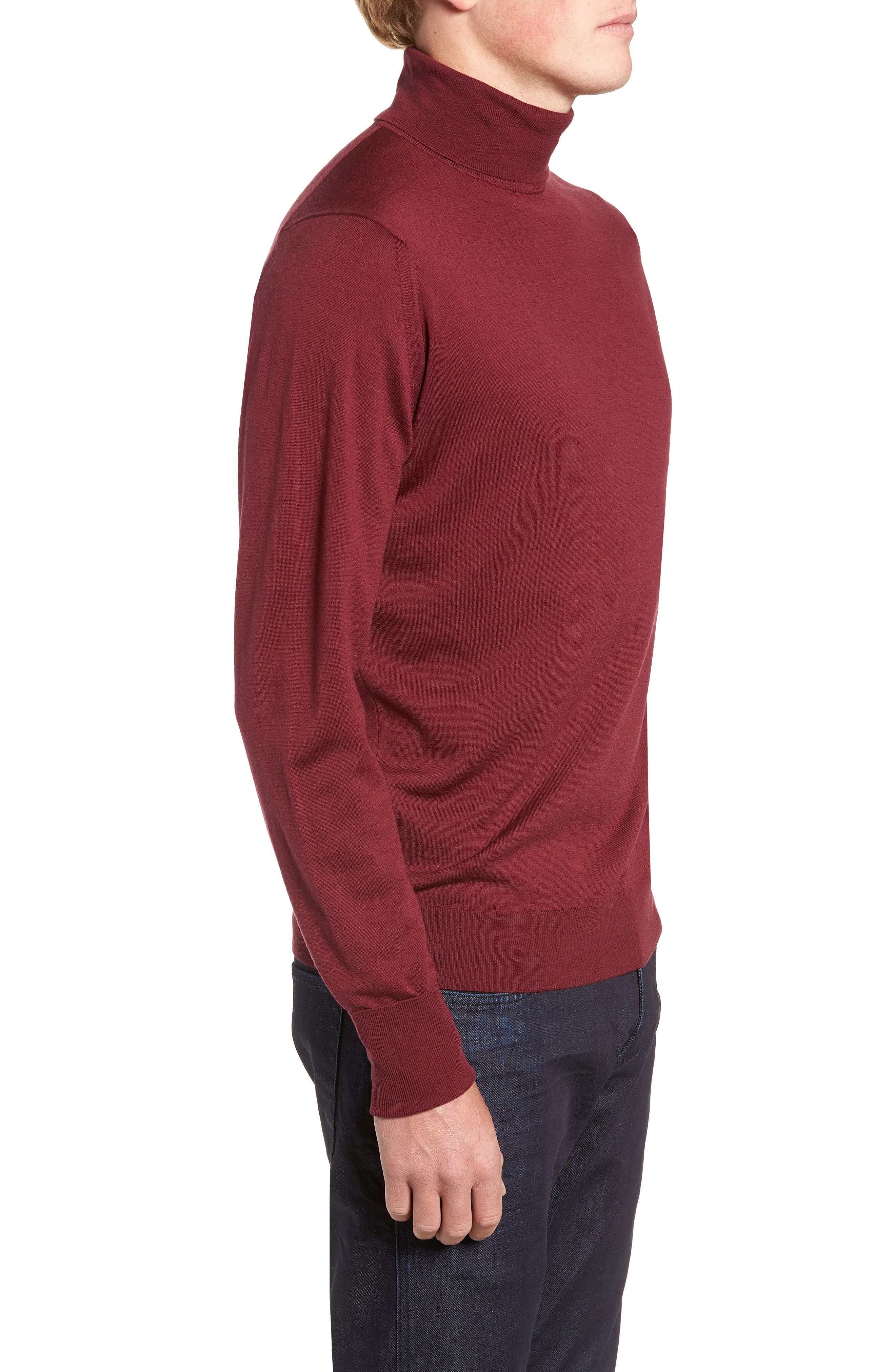 'Richards' Easy Fit Turtleneck Wool Sweater,                             Alternate thumbnail 20, color,
